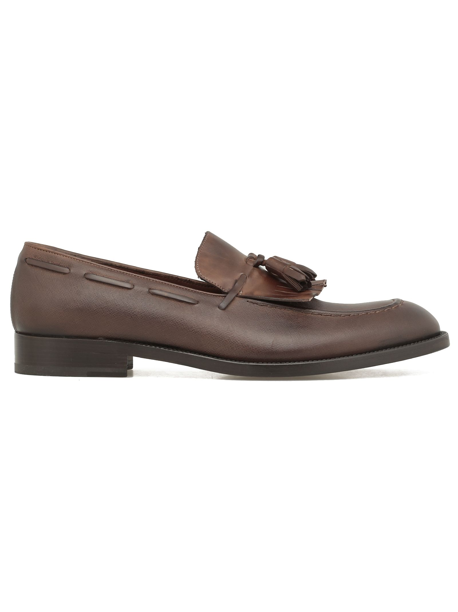 FRATELLI ROSSETTI Toledo Mini Loafer in Brown