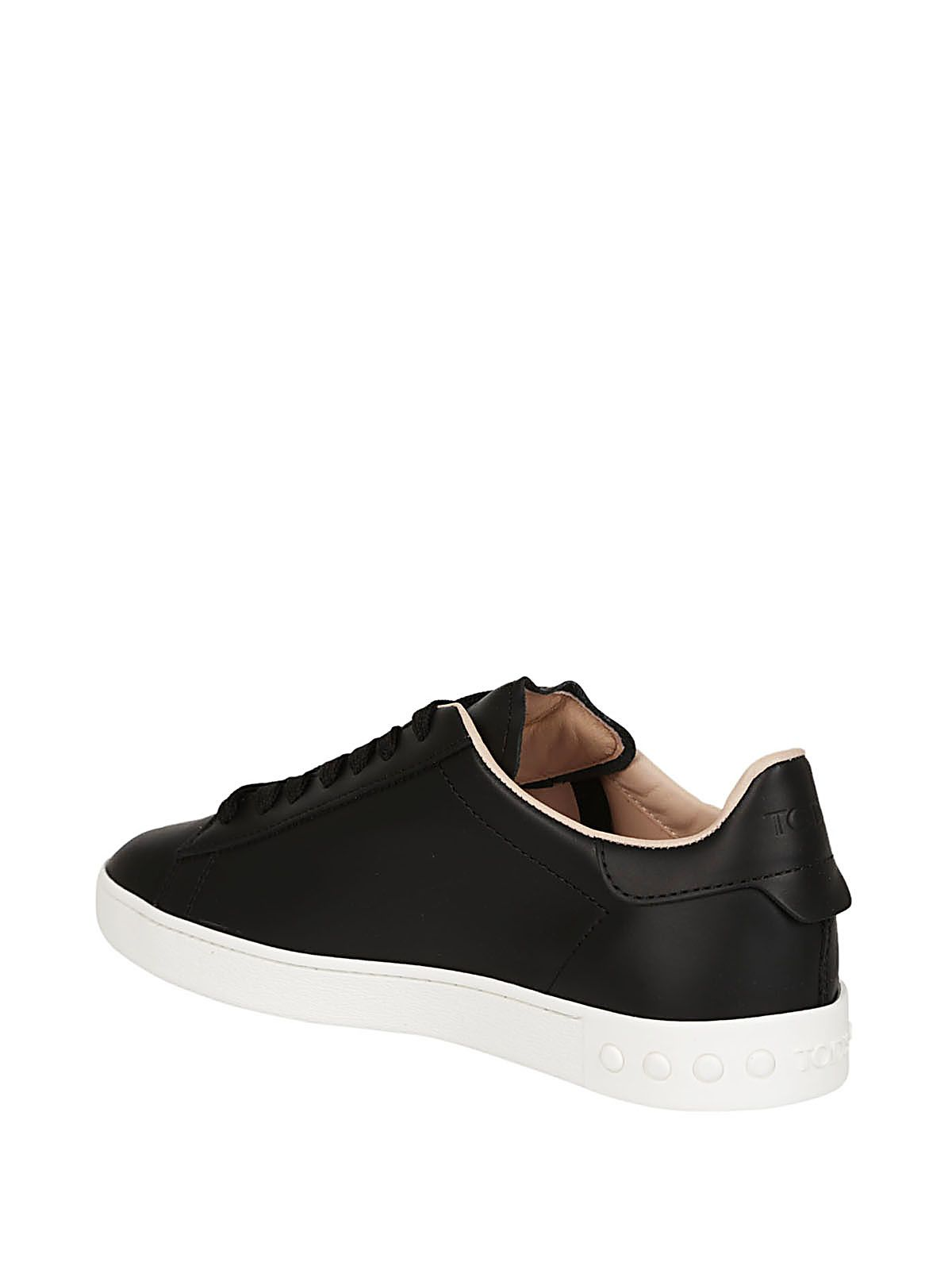 T lace-up sneakers - Black Tod's CsttQ