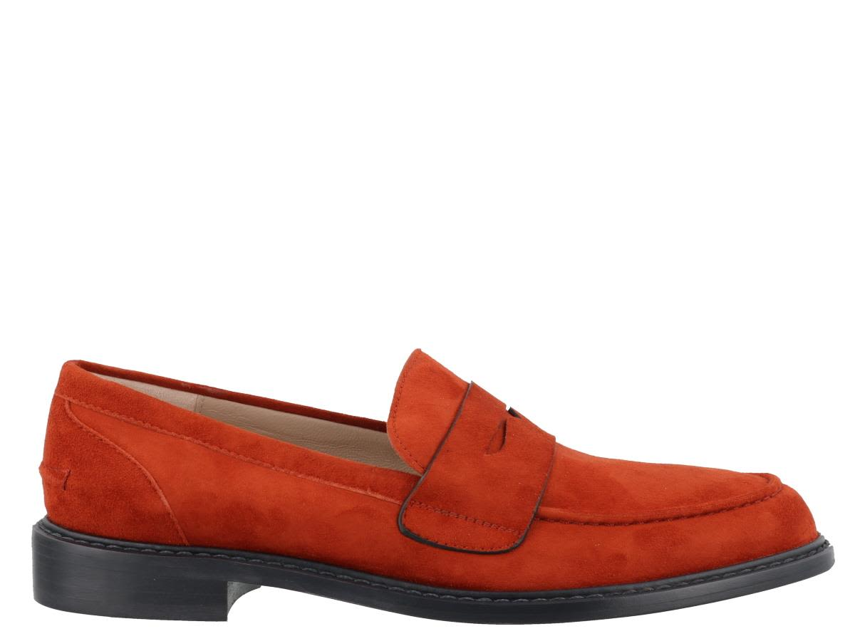 Rubpennies Loafers, Orange