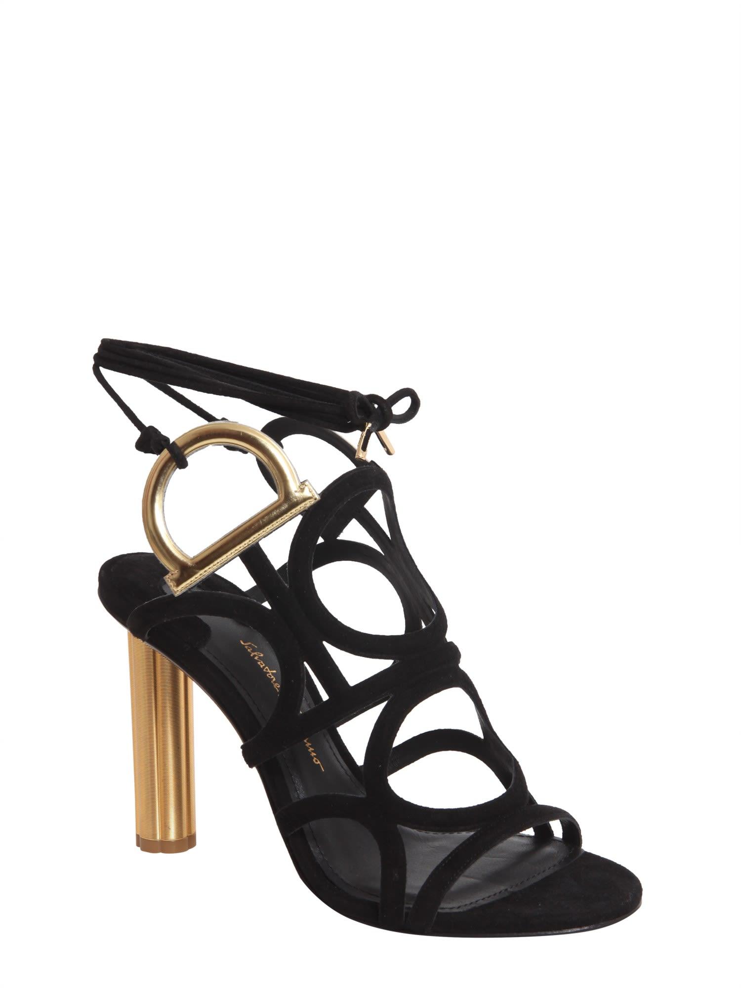 Salvatore Ferragamo Gancini sandals discount outlet store cheap sale store free shipping online jz0BxCVo8