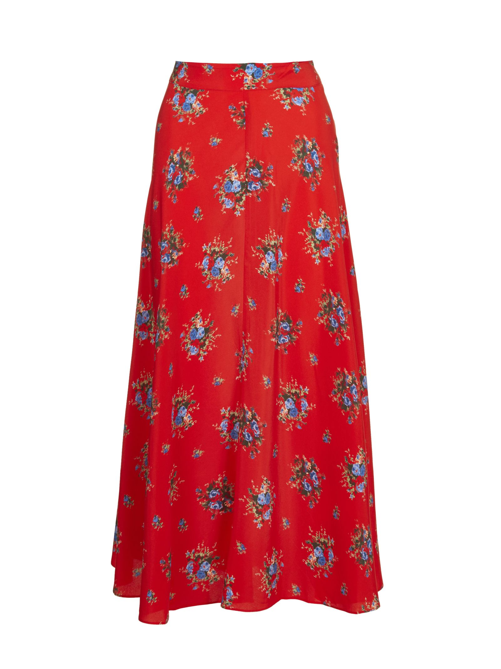 GANNI PRINTED SKIRT
