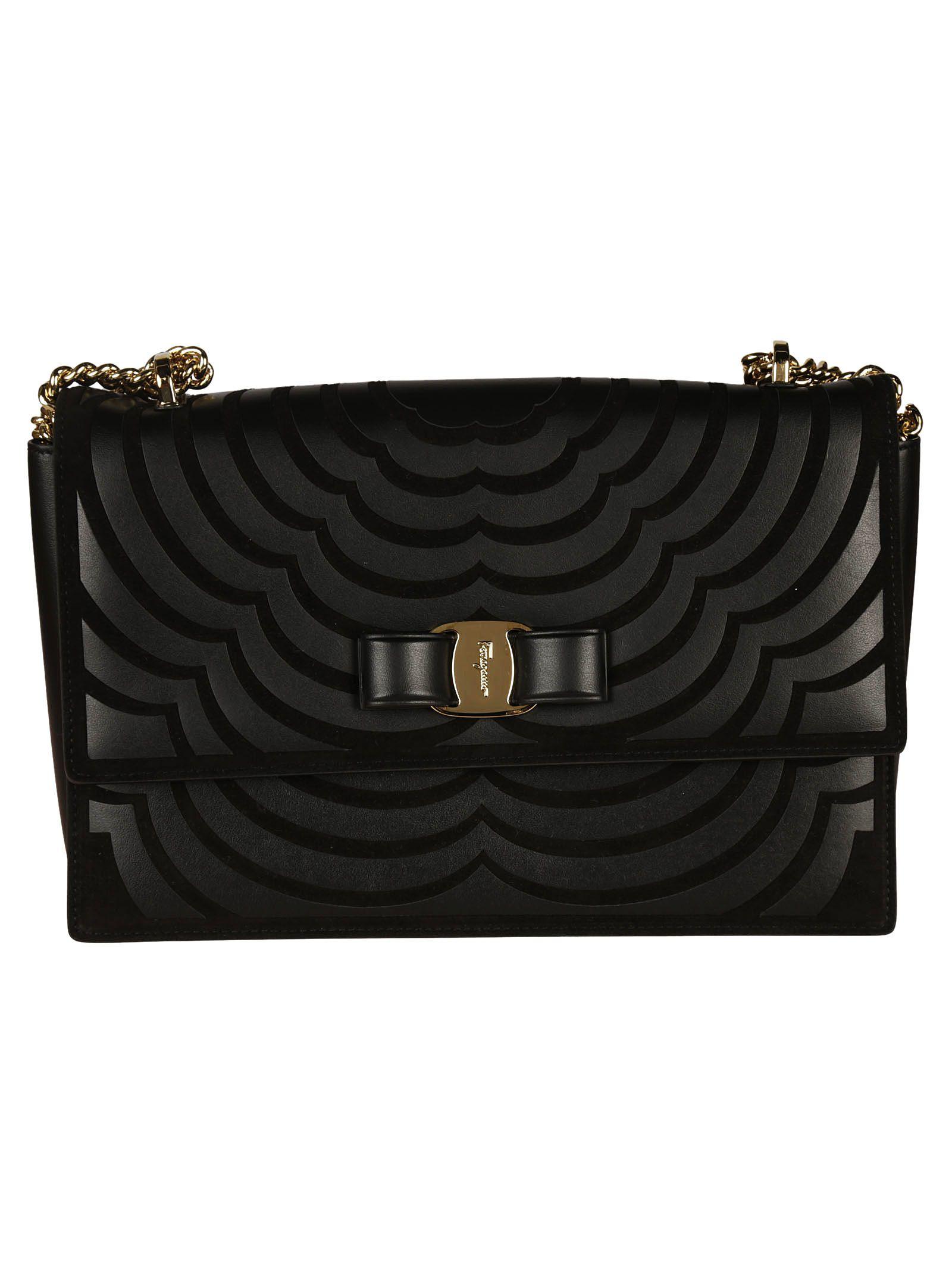 Shoulder Bag for Women On Sale, flowered, Leather, 2017, one size Salvatore Ferragamo
