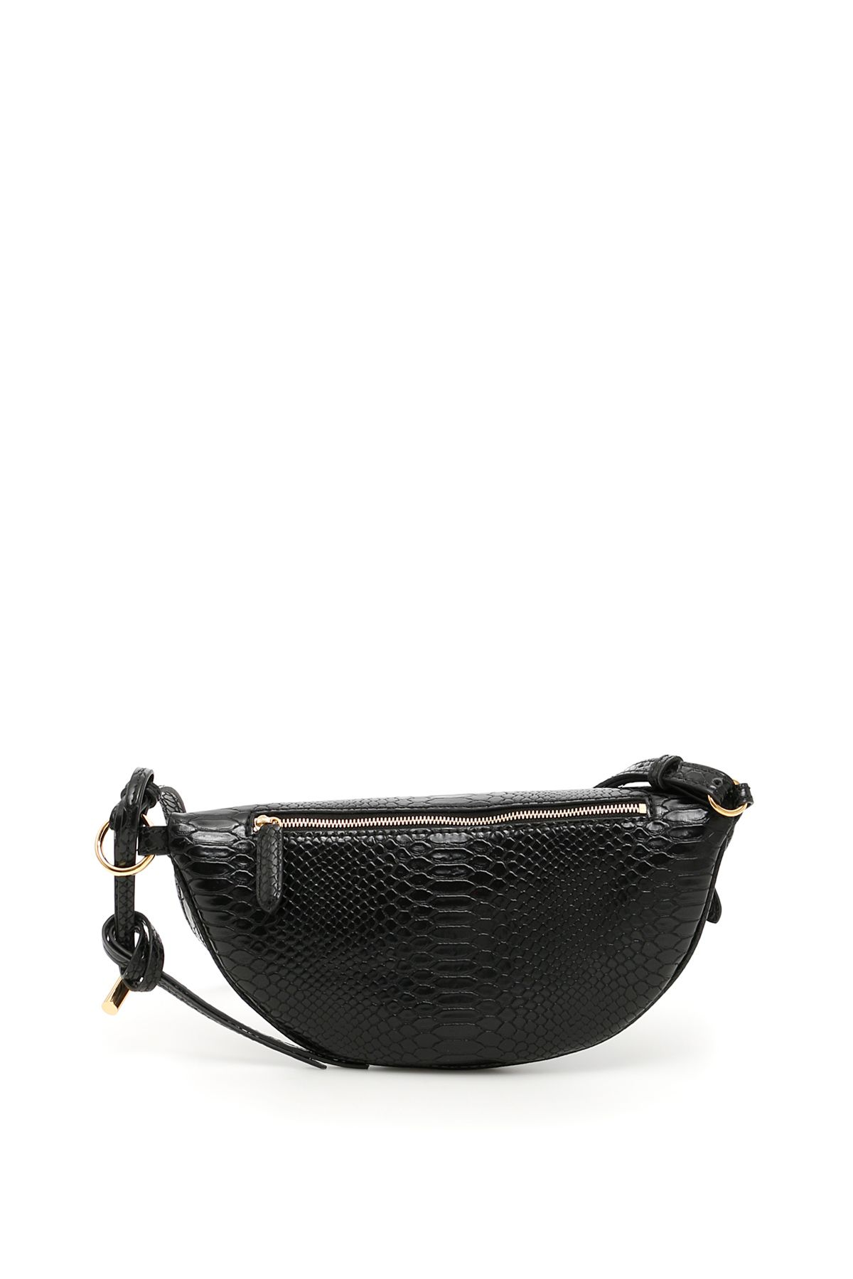 Alter Snake Small Bum Bag in Ivory Eco Leather Stella McCartney 54axacHd