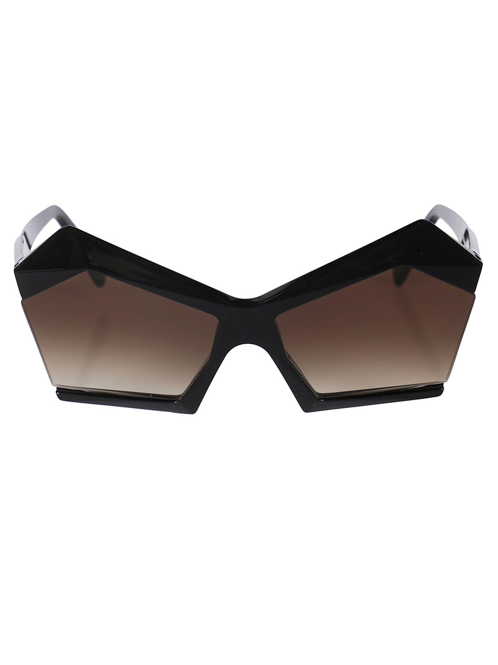 ROBERT LA ROCHE Robert Laroche Fancy Sunglasses in Dsblack