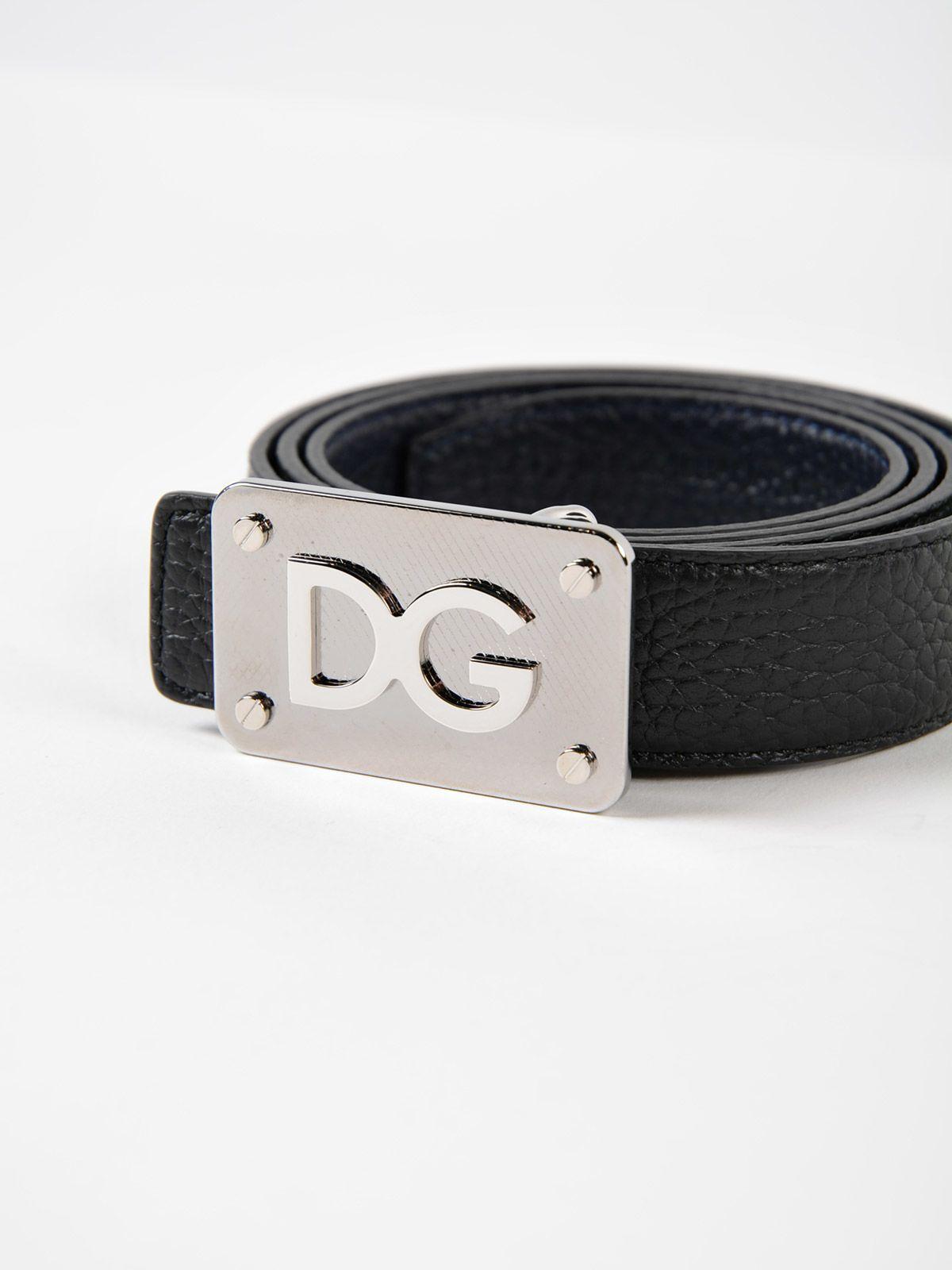 logo buckle belt - Black Dolce & Gabbana OP3FGHLBv