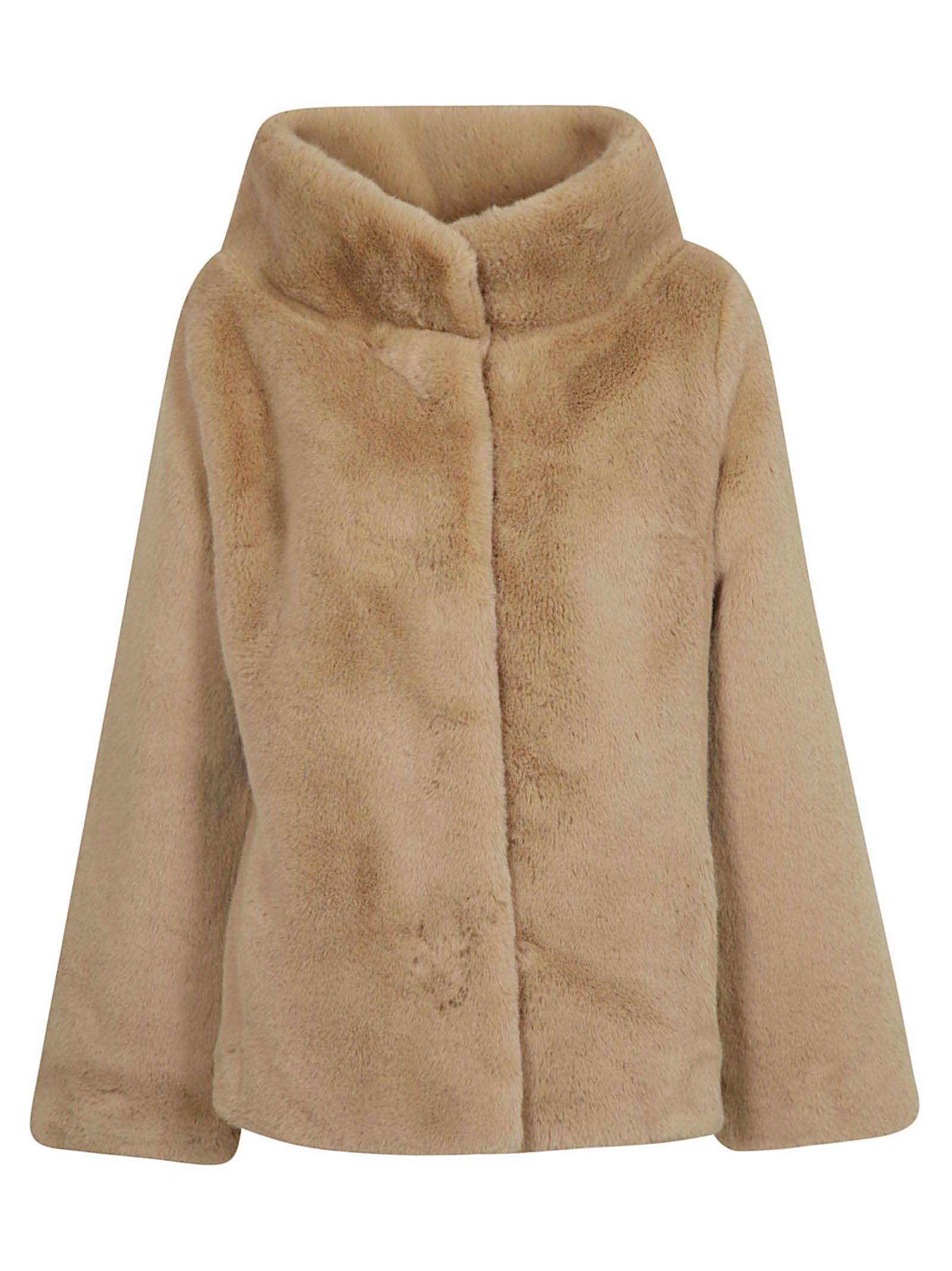 BETTA CORRADI Fur Jacket in Cammello
