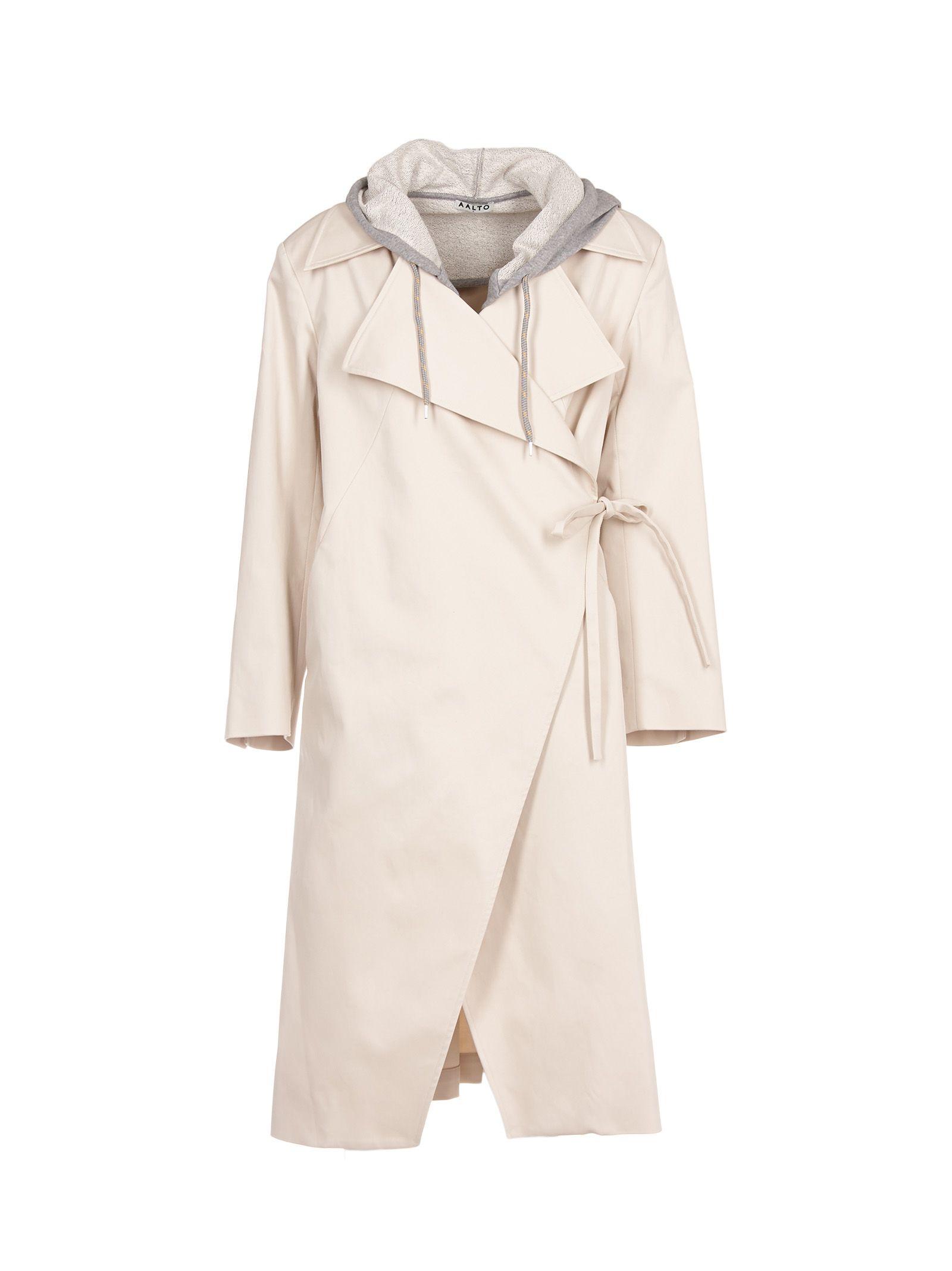 aalto female aalto asymmetric coat