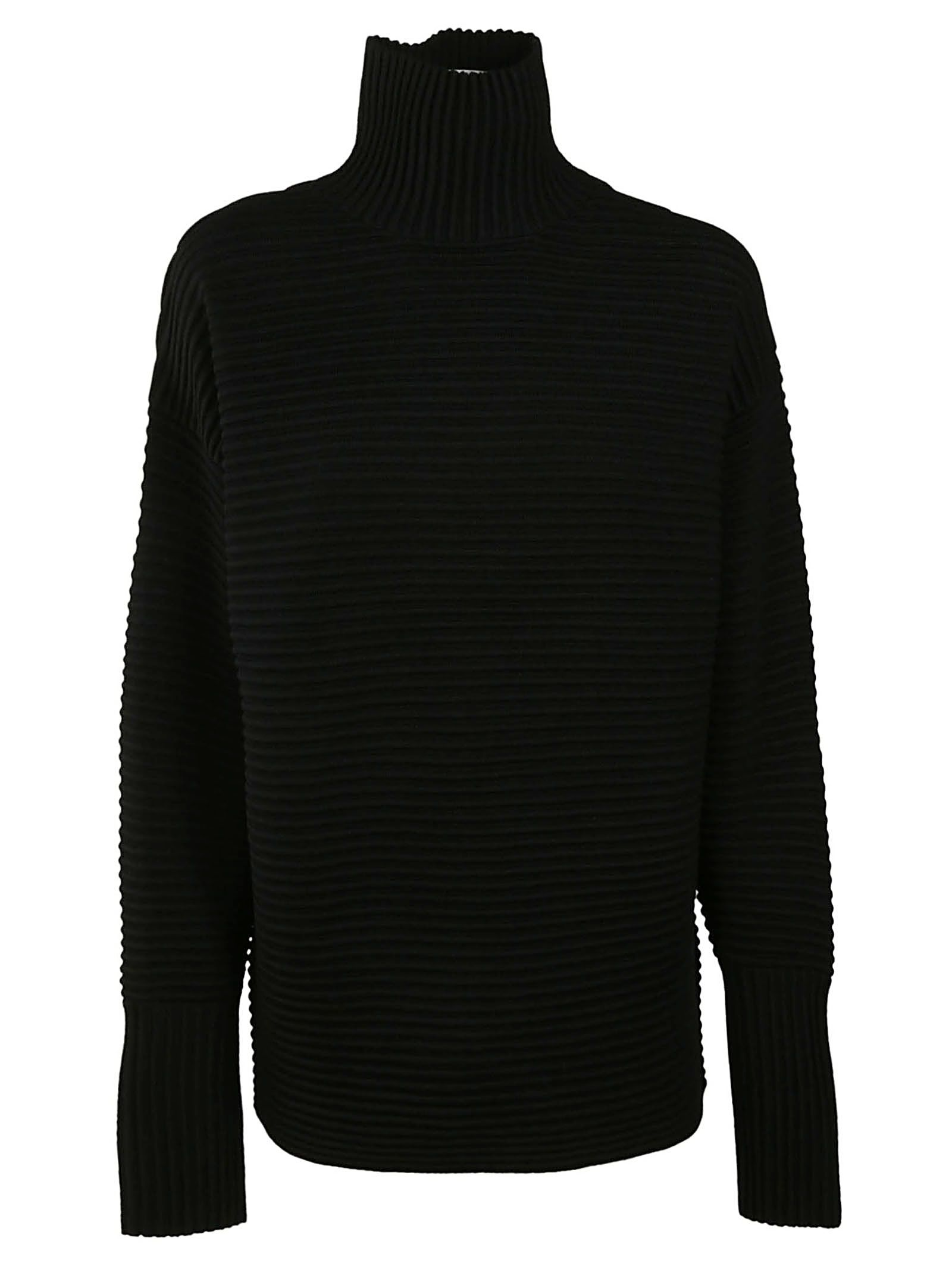 VICTORIA BECKHAM RIBBED SWEATER
