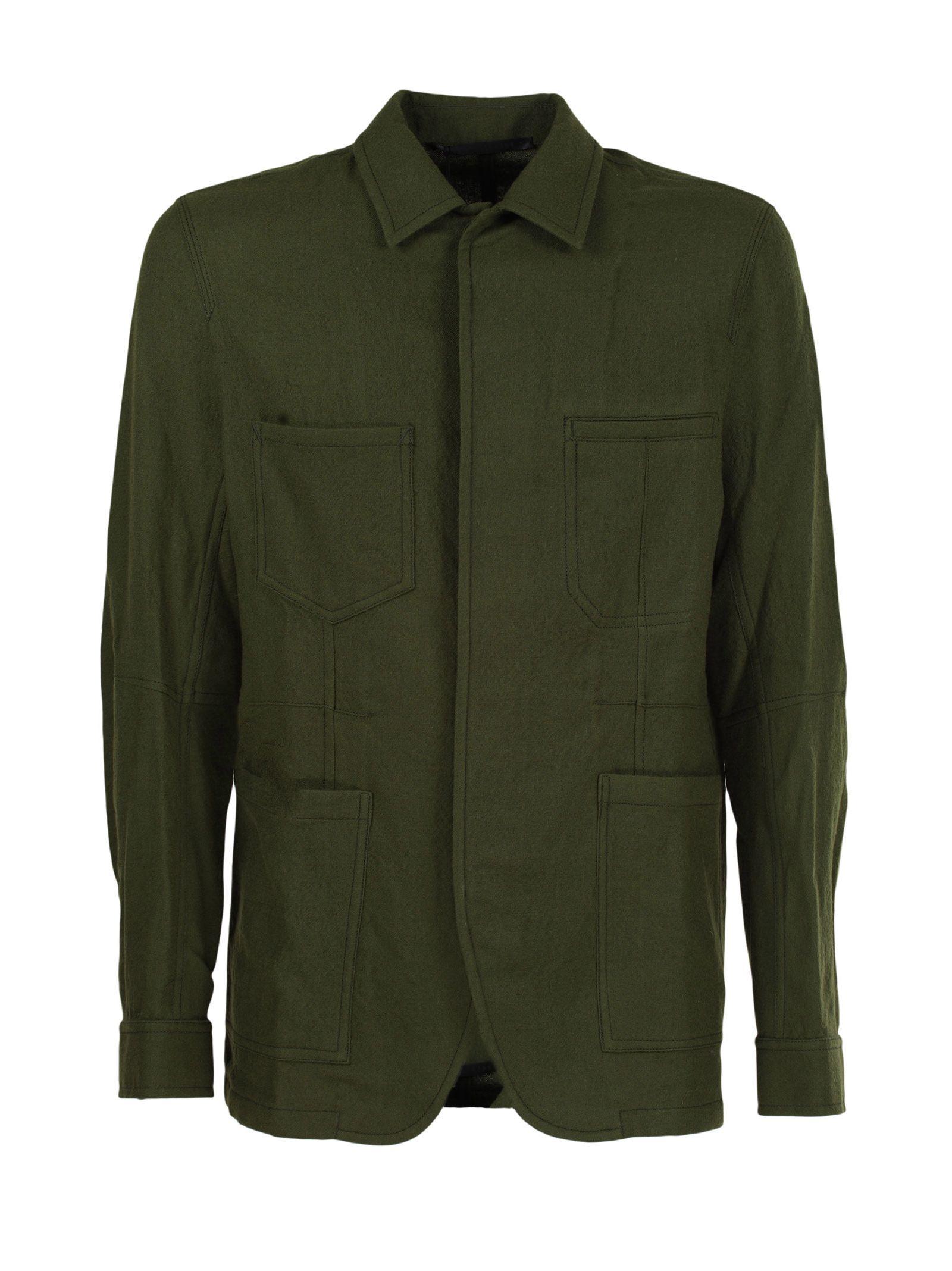 Haider Ackermann Haider Ackermann Fitted Workwear Shirt