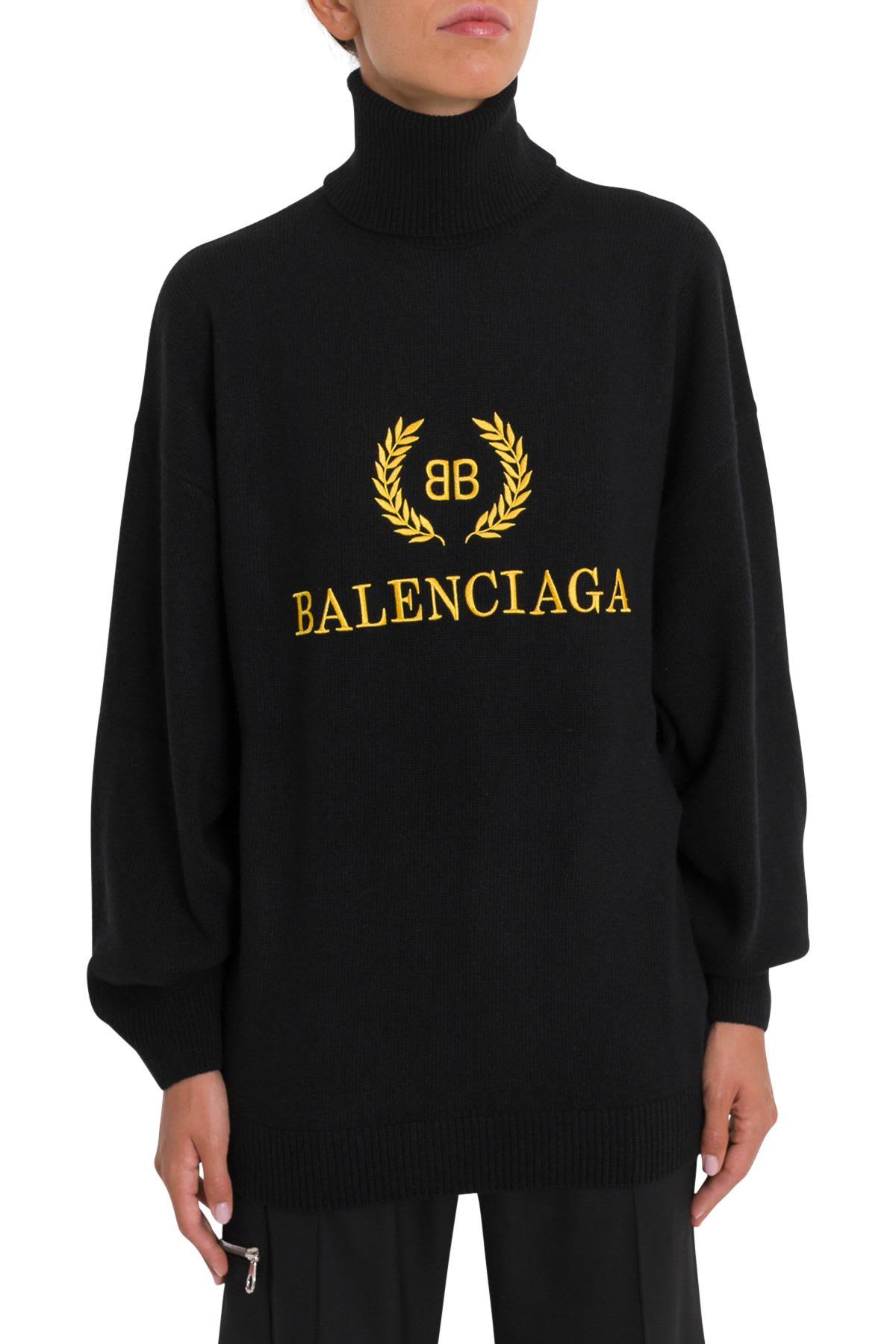 Balenciaga Clothing BB TURTLENECK