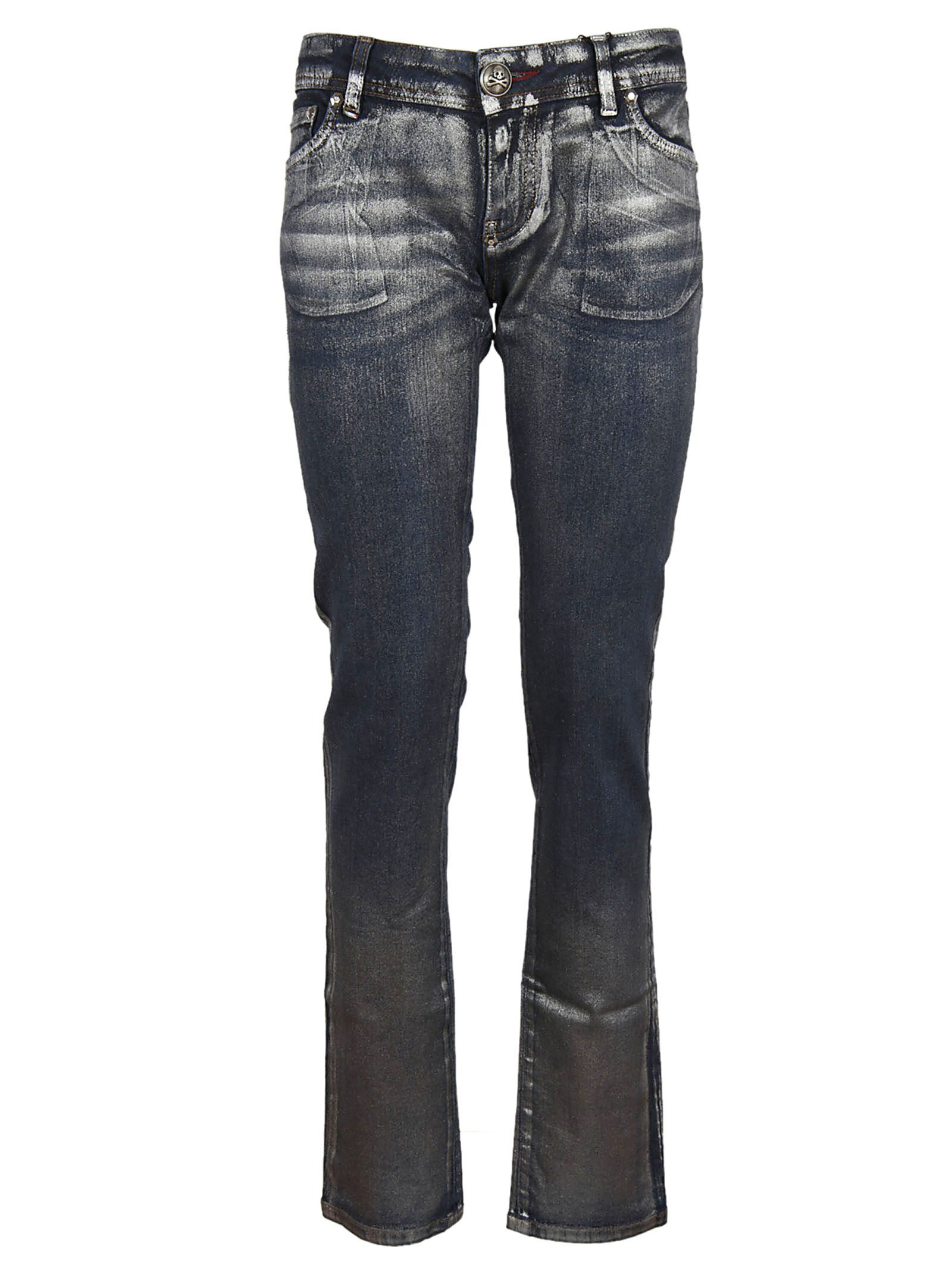 Philipp Plein Metal Shaded Jeans 8213786