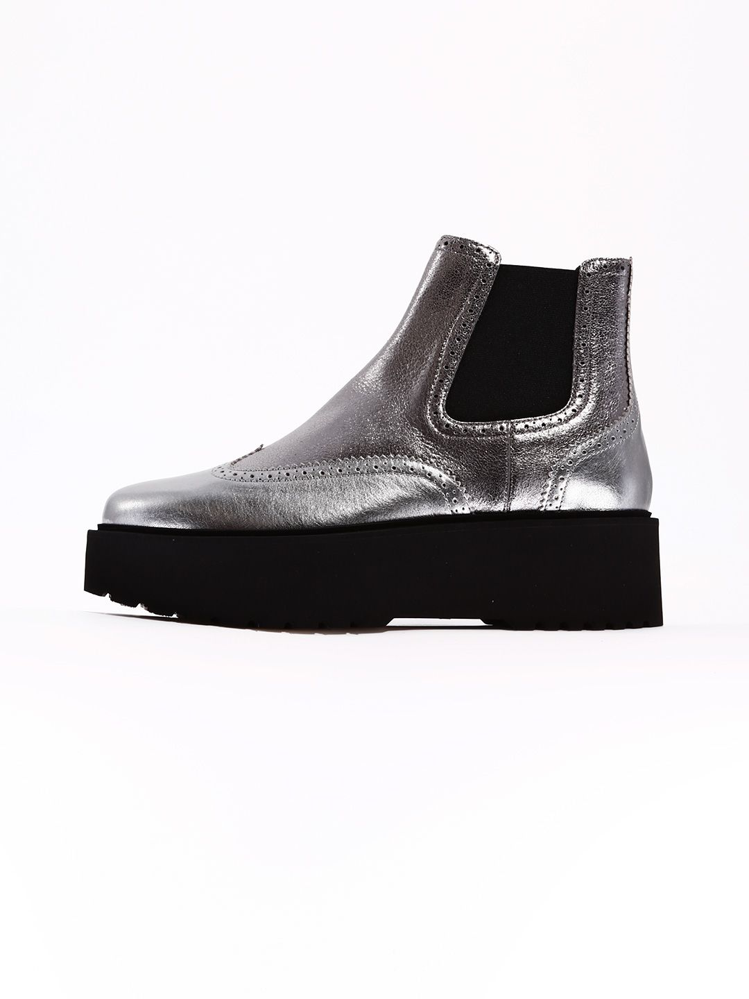 Ankle Boot Silver Route H355