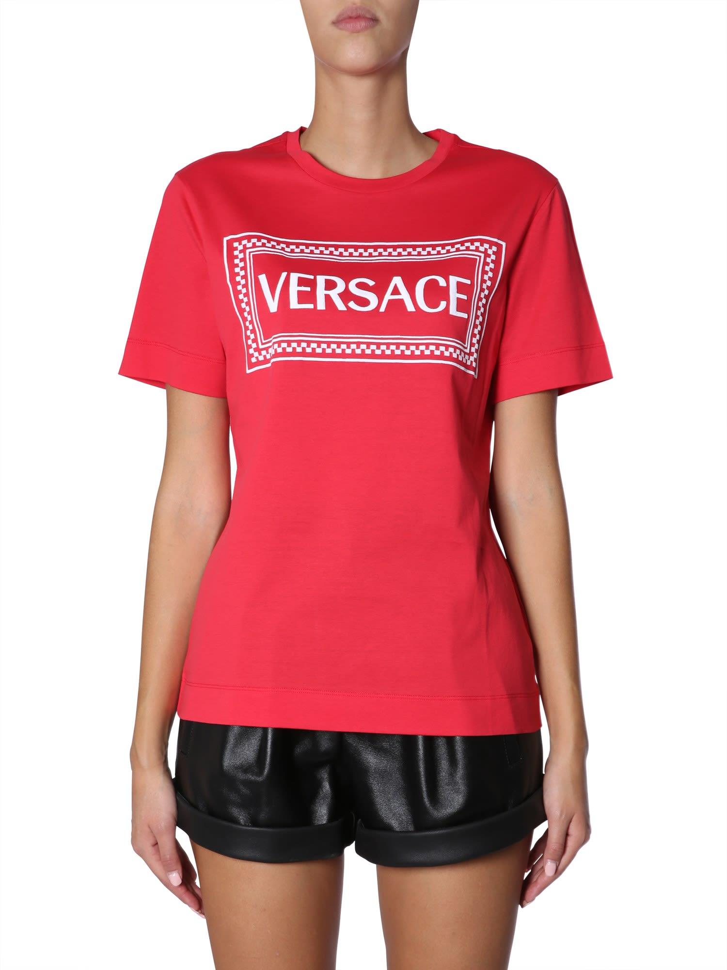 7b5b7ef833 Logo Vintage '90 Cotton-Jersey T-Shirt in Red