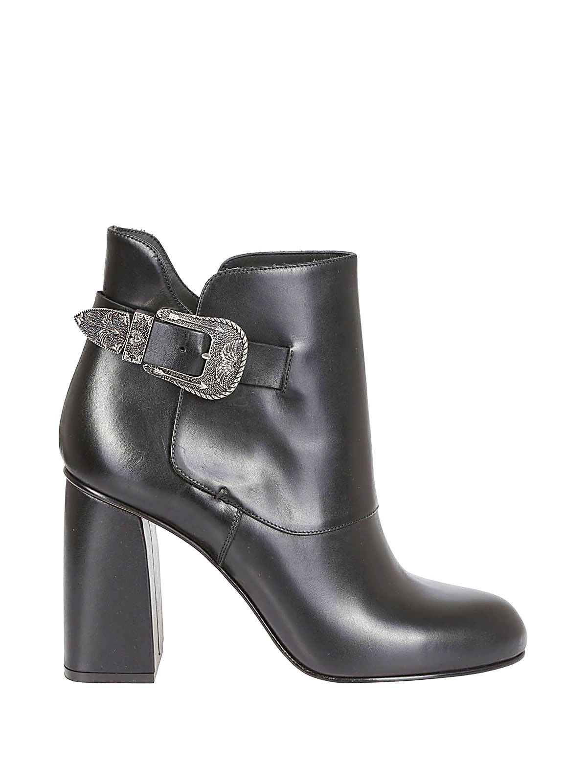 Red Valentino side buckle embellished boots clearance free shipping SNrmDjBOq