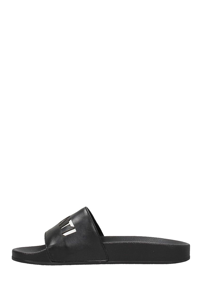 Ylati Chaussures Flats Caoutchouc Blanc Sandales QBh438