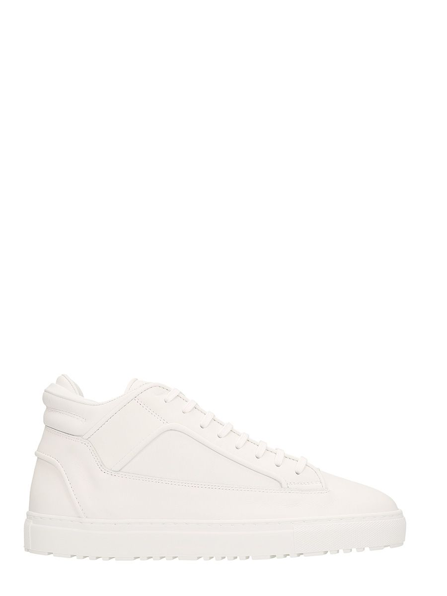 ETQ. MID 2 WHITE LEATHER SNEAKERS