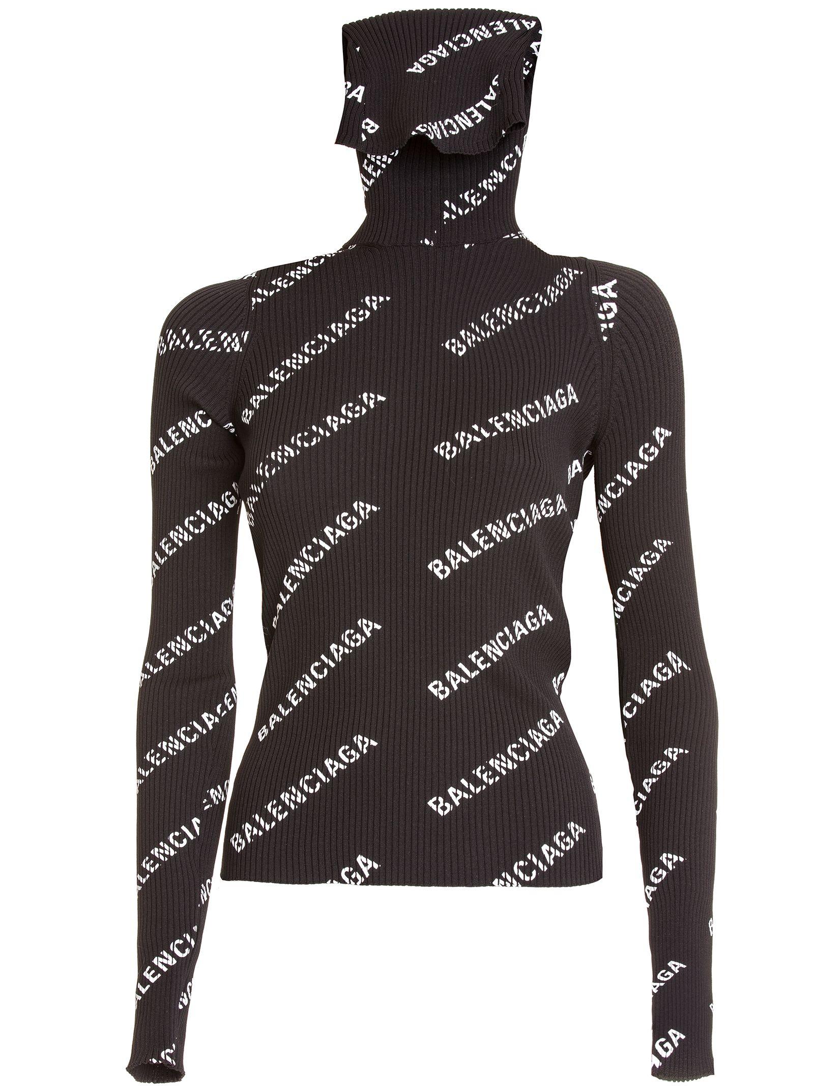 balenciaga -  Logo Sweater