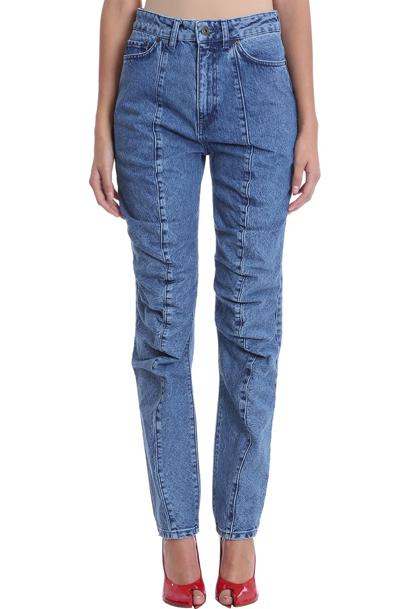 Y/project RUFFLE DETAIL JEANS