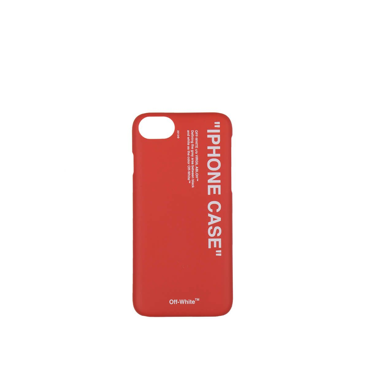 Quote Iphone 8 Case In Red