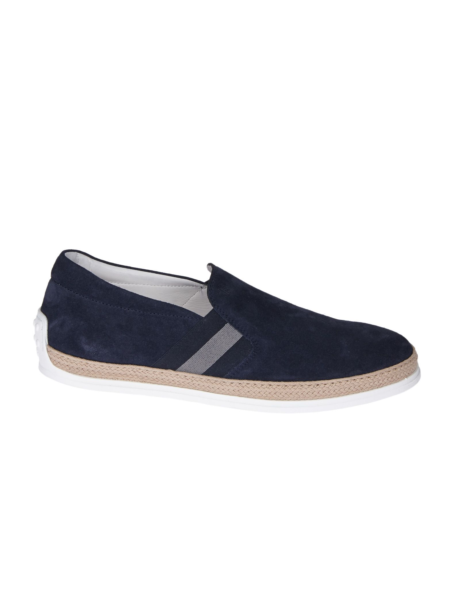 Slip Classique Tod Sur Chaussures De Sport - Bleu ulr7KwICxB