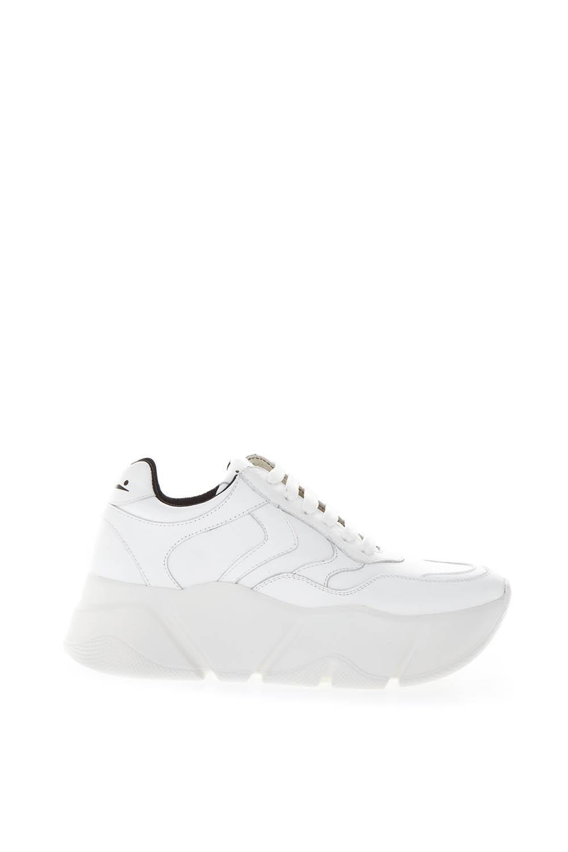 Monster White Leather Sneaker