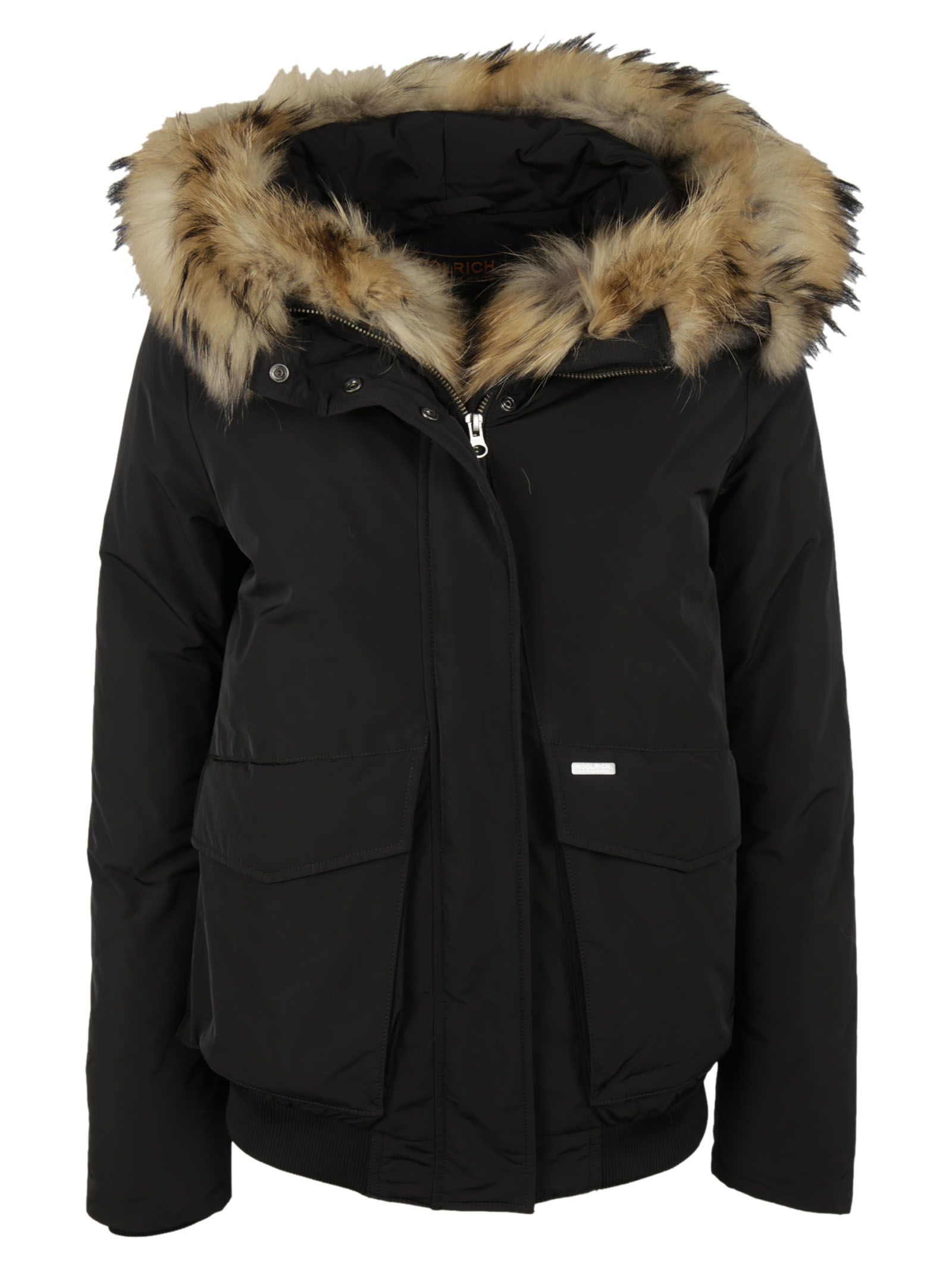 italist best price in the market for woolrich woolrich furred hood