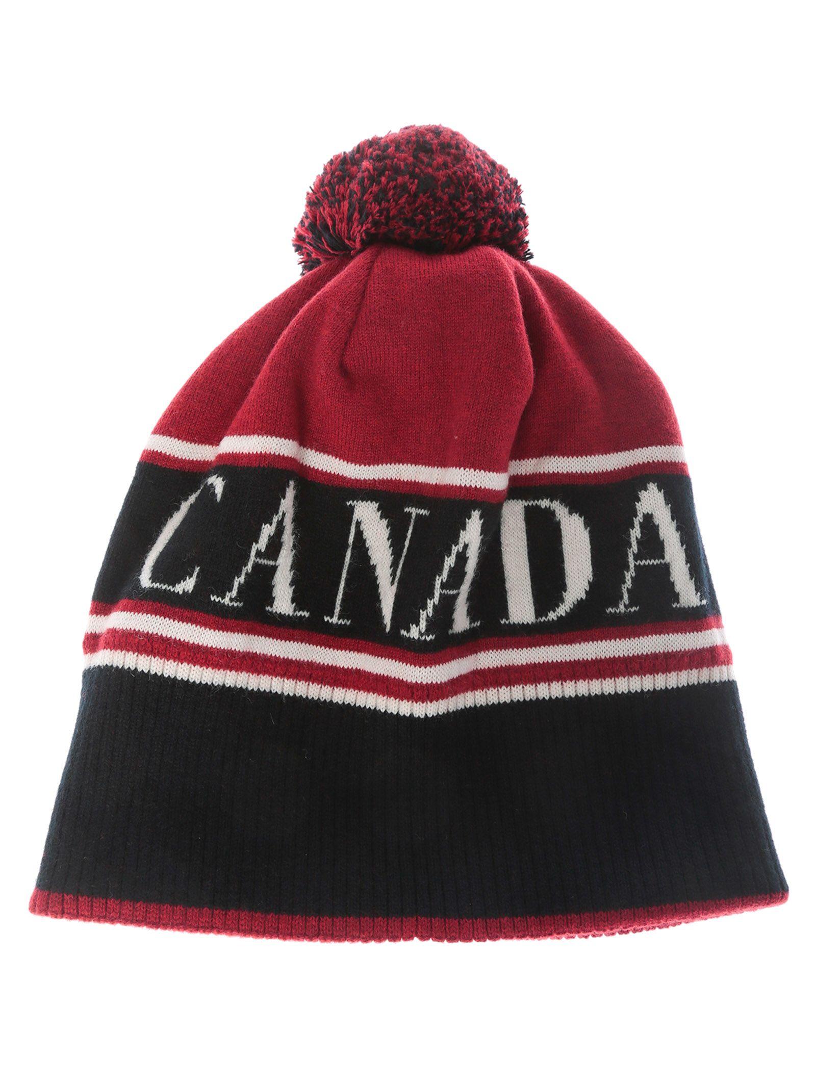 f3e0fd1013c CANADA GOOSE POM TOQUE BEANIE