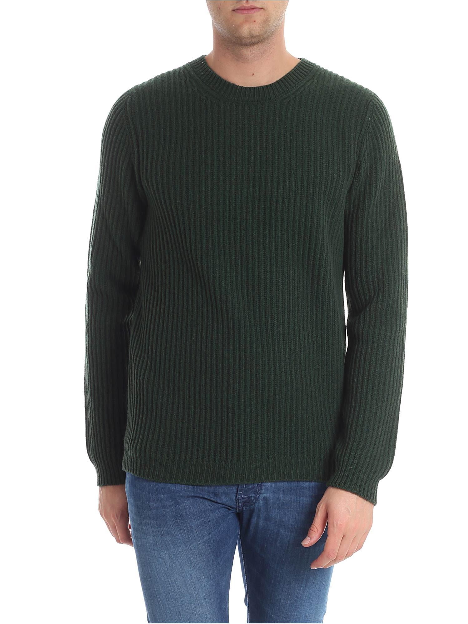 TRUSSARDI Wool Sweater in Green