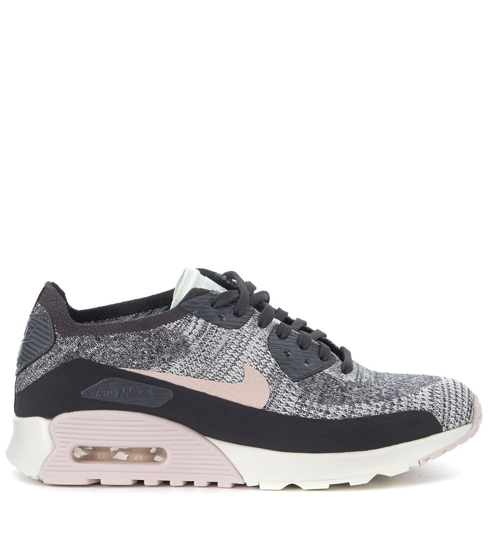 nike nike air max 90 ultra 20 flyknit black and pink