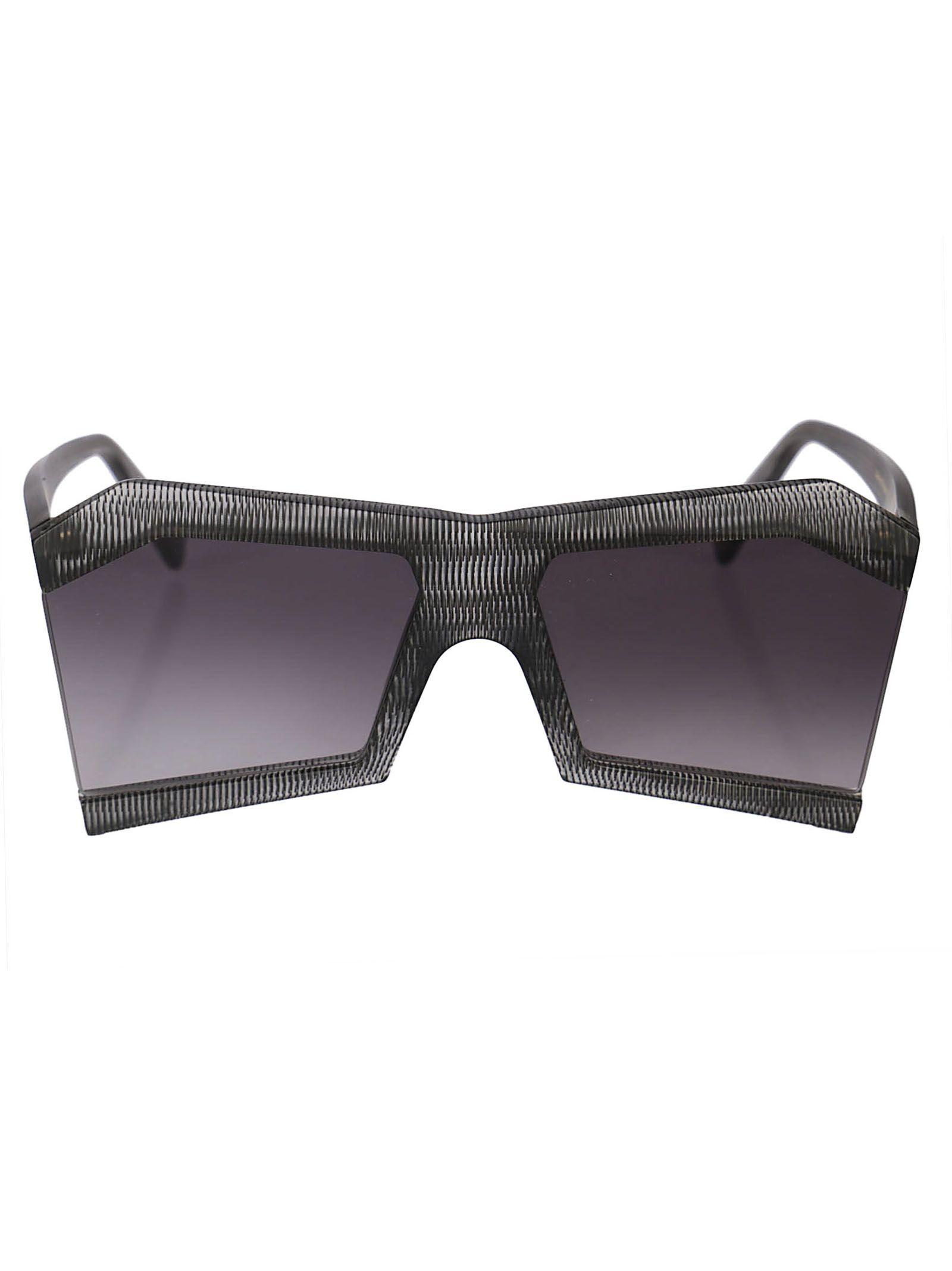 ROBERT LA ROCHE Robert Laroche Fancy Sunglasses in Gray