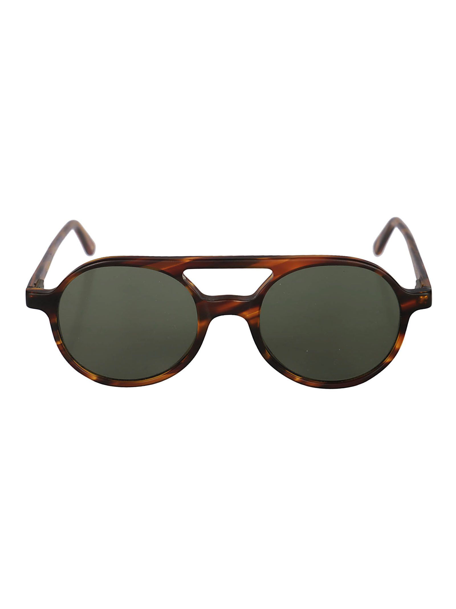 L.G.R Lgr Aviator Sunglasses in Havana