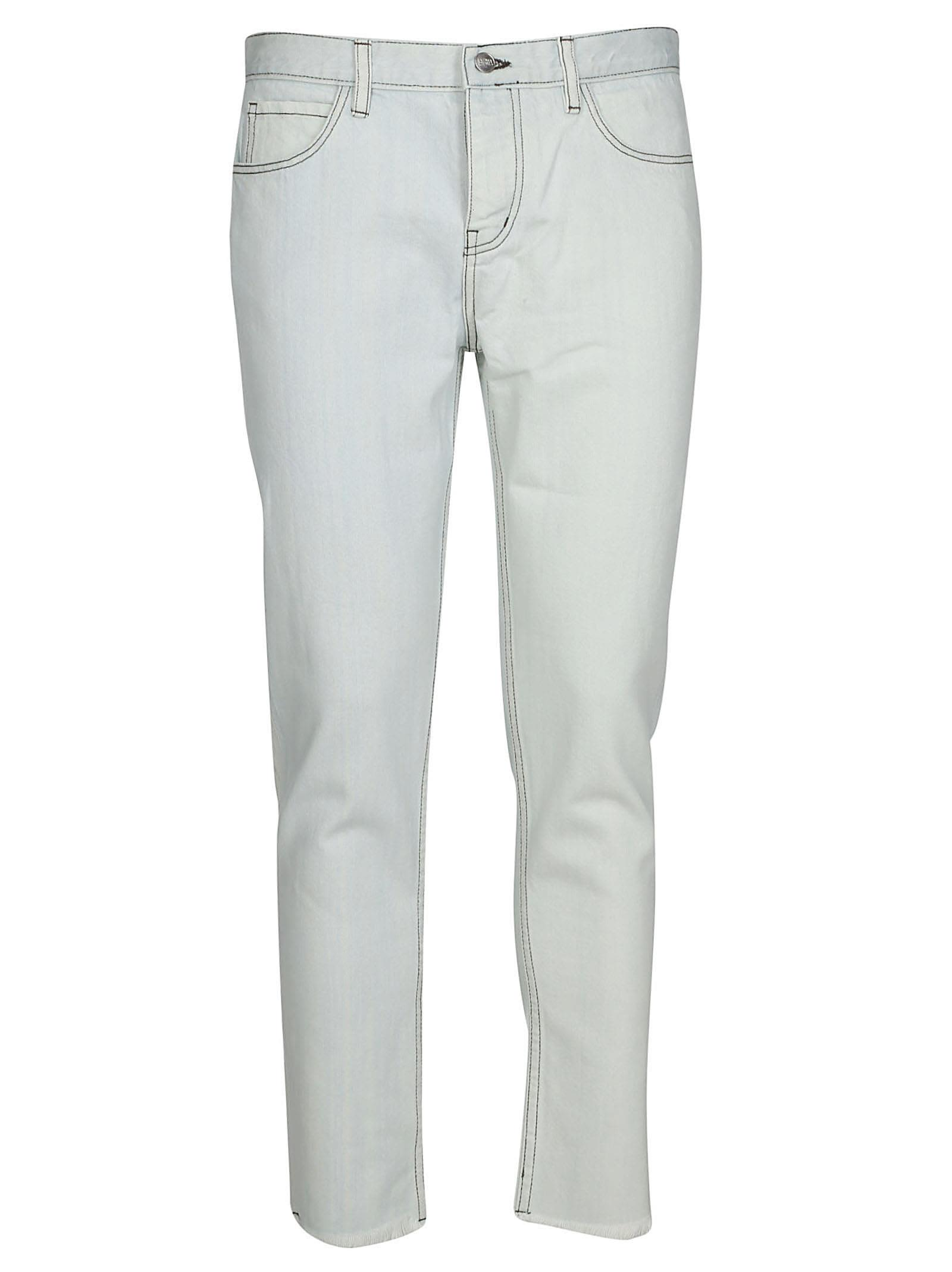 ENFANT RICHE DÉPRIMÉ Enfants Riches Déprimés Classic Jeans in White
