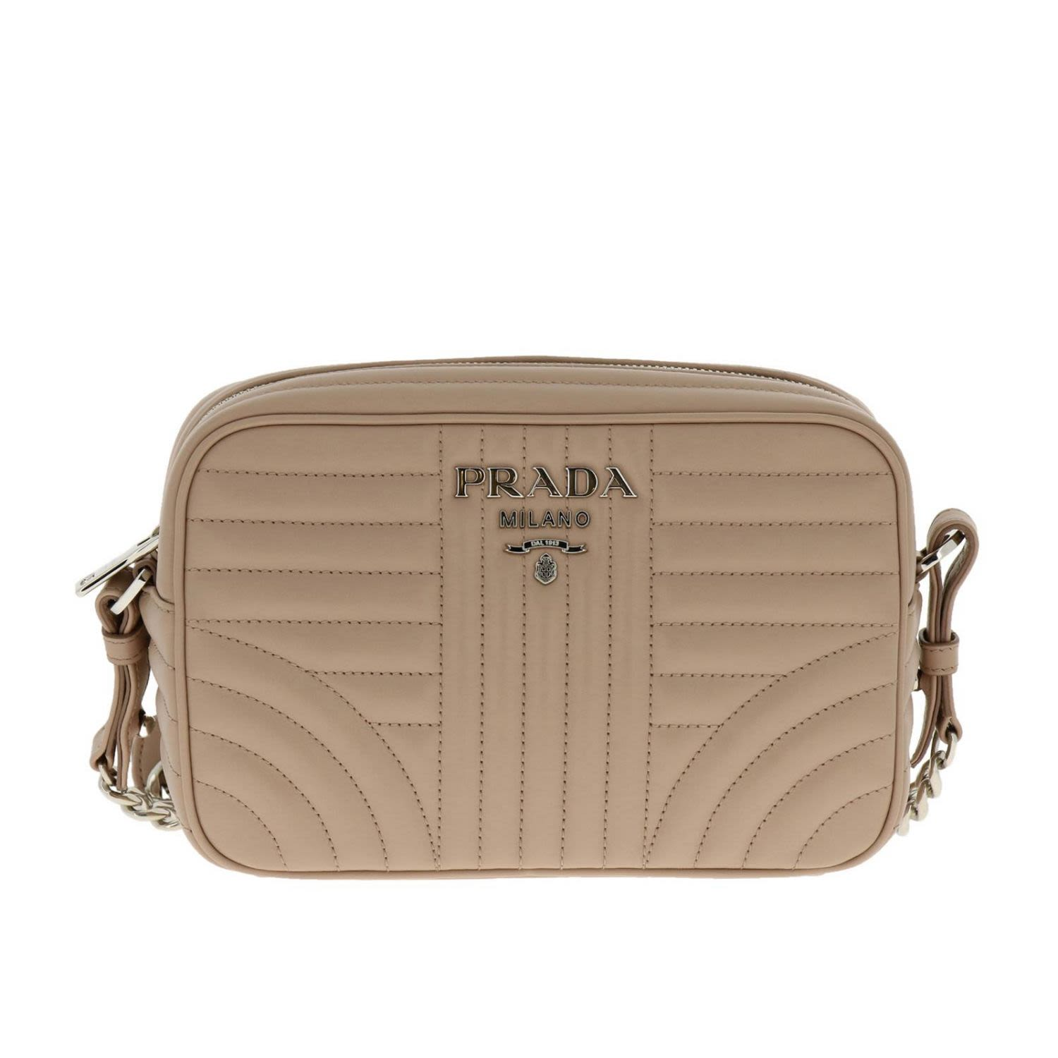 5ceee0257ec9 ... get prada mini bag shoulder bag women powder 67628 68d27