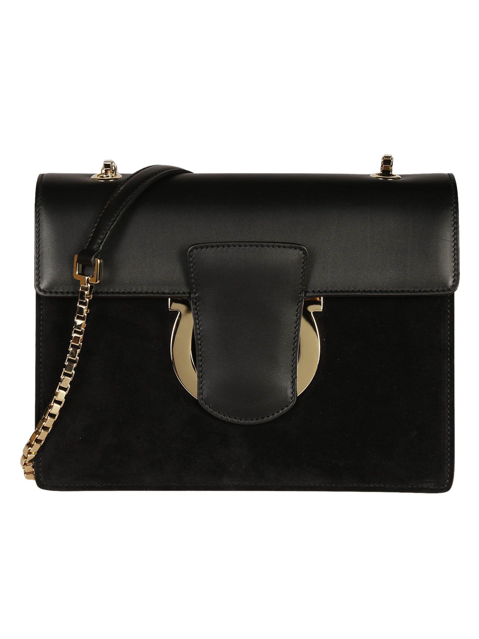 Gancio shoulder bag - Black Salvatore Ferragamo 9WCAIsbj