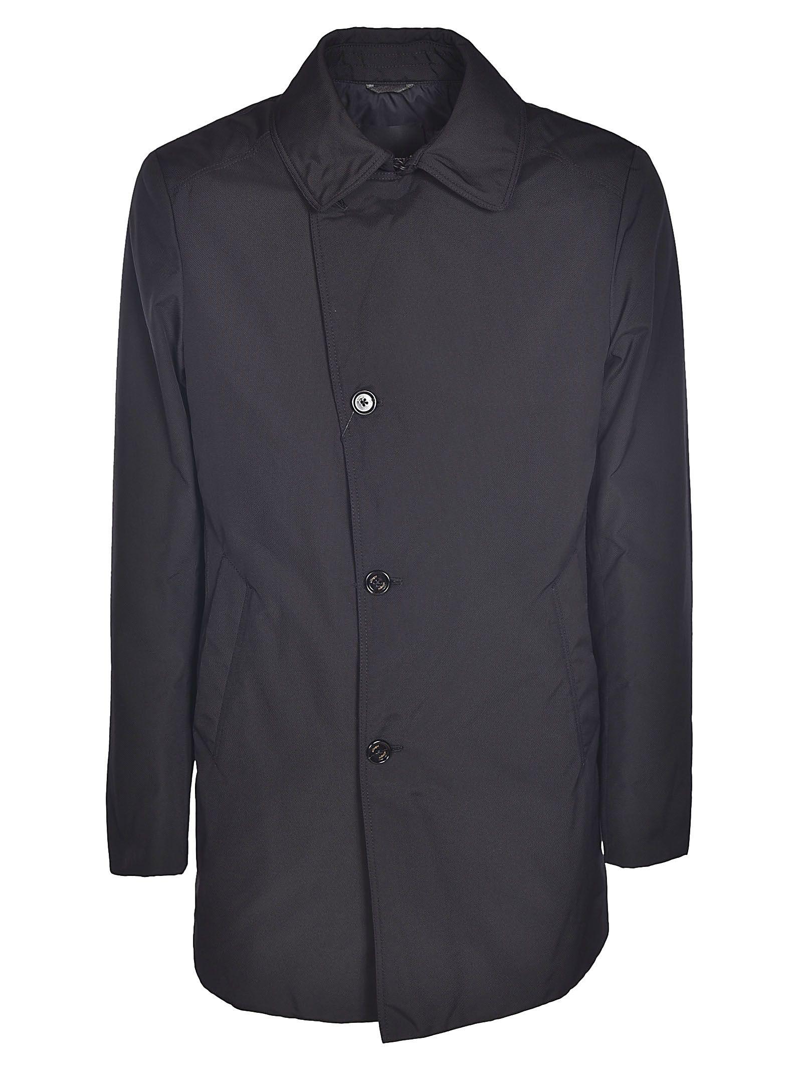 ALLEGRI Single Breasted Coat in Black