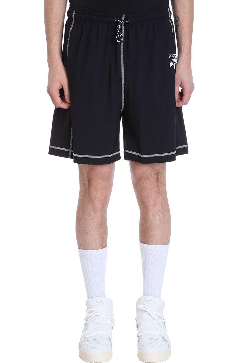 Adidas Originals By Alexander Wang BLACK TECHNICAL FABRIC SHORTS