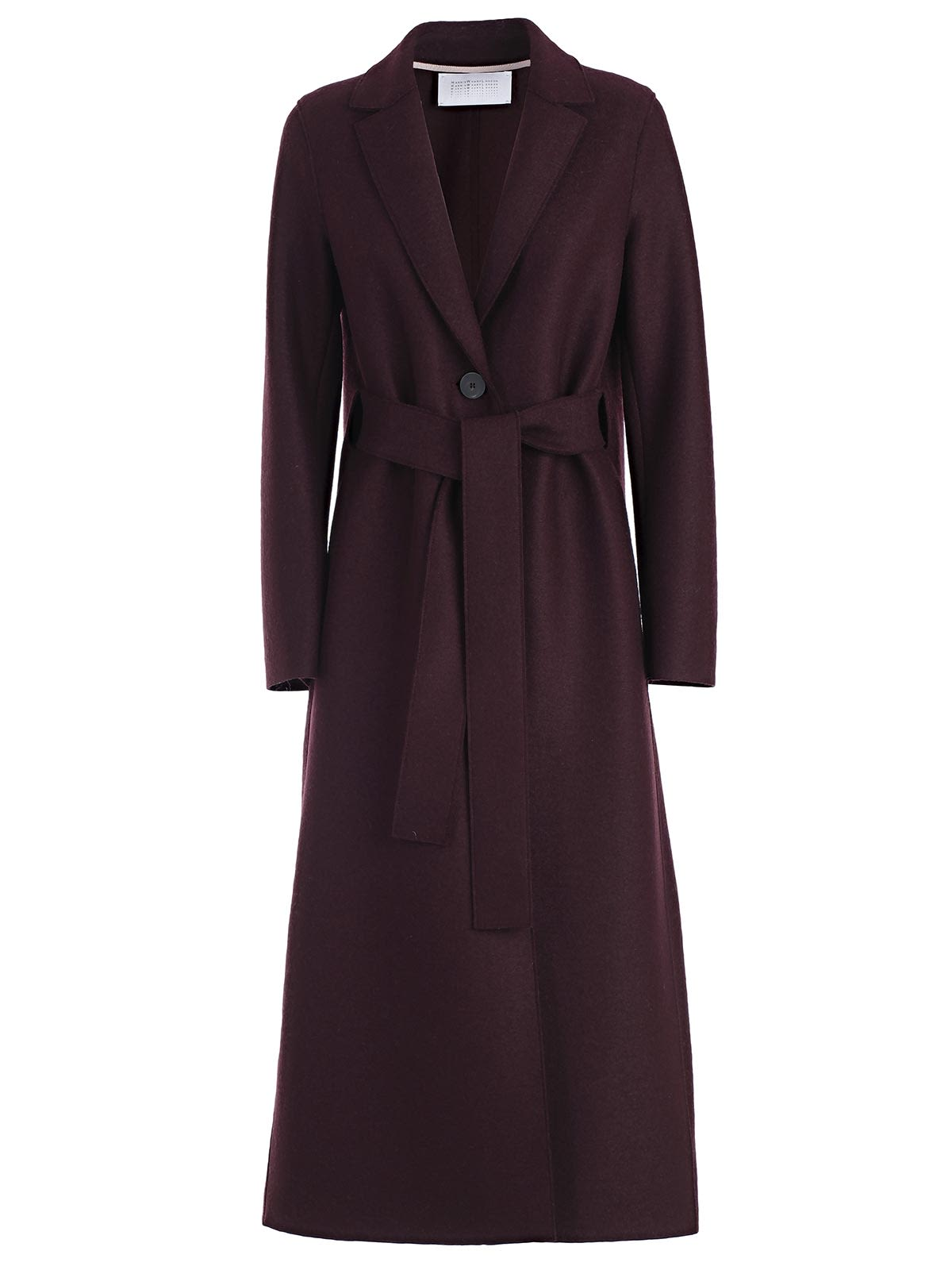 HARRIS WHARF LONDON BELTED WRAPPED COAT