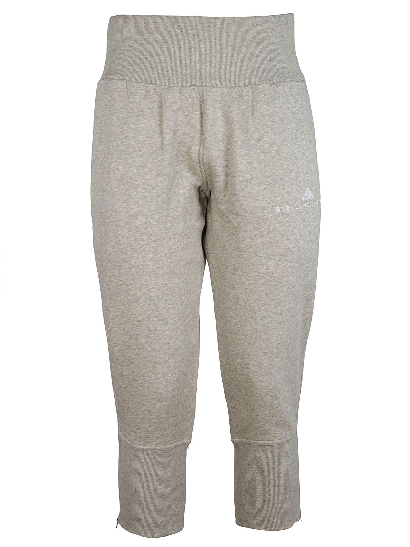 Adidas By Stella Mccartney Cropped Tapered Track Pants