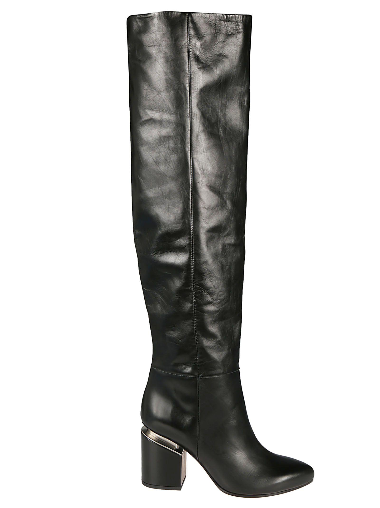 VIC MATIE Vic Matie' Knee High Boots in Nero