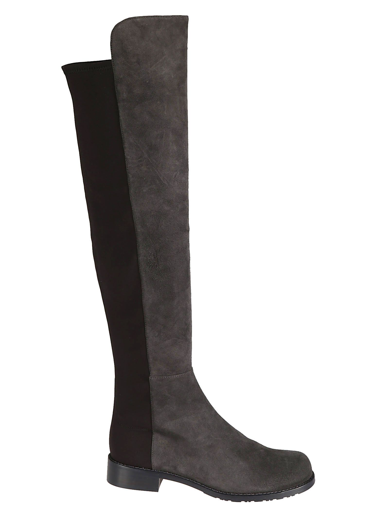 5050 Over-The-Knee Boots, Tarmac Black