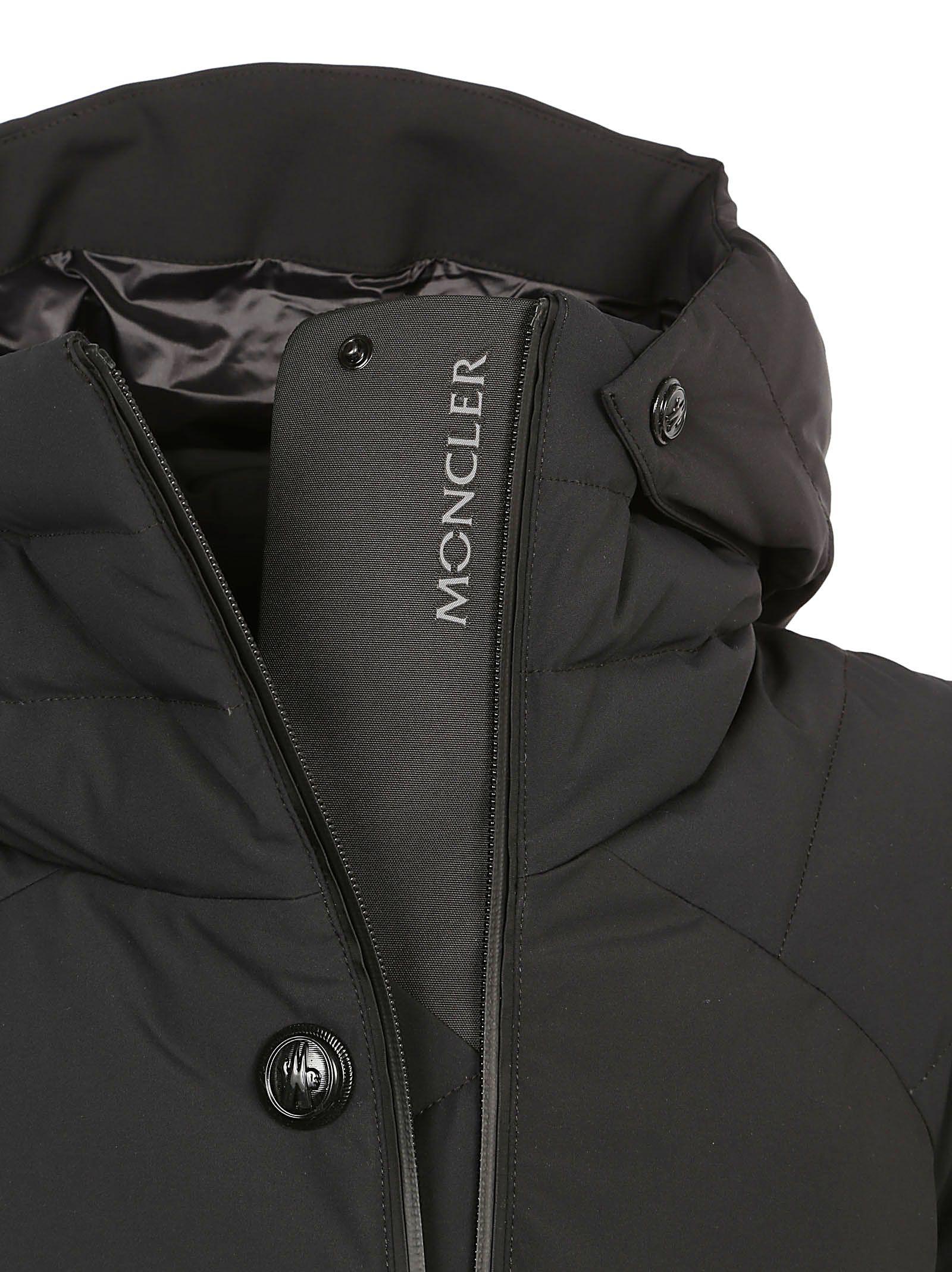 ... Moncler Grenoble Guyane Down Jacket - Black