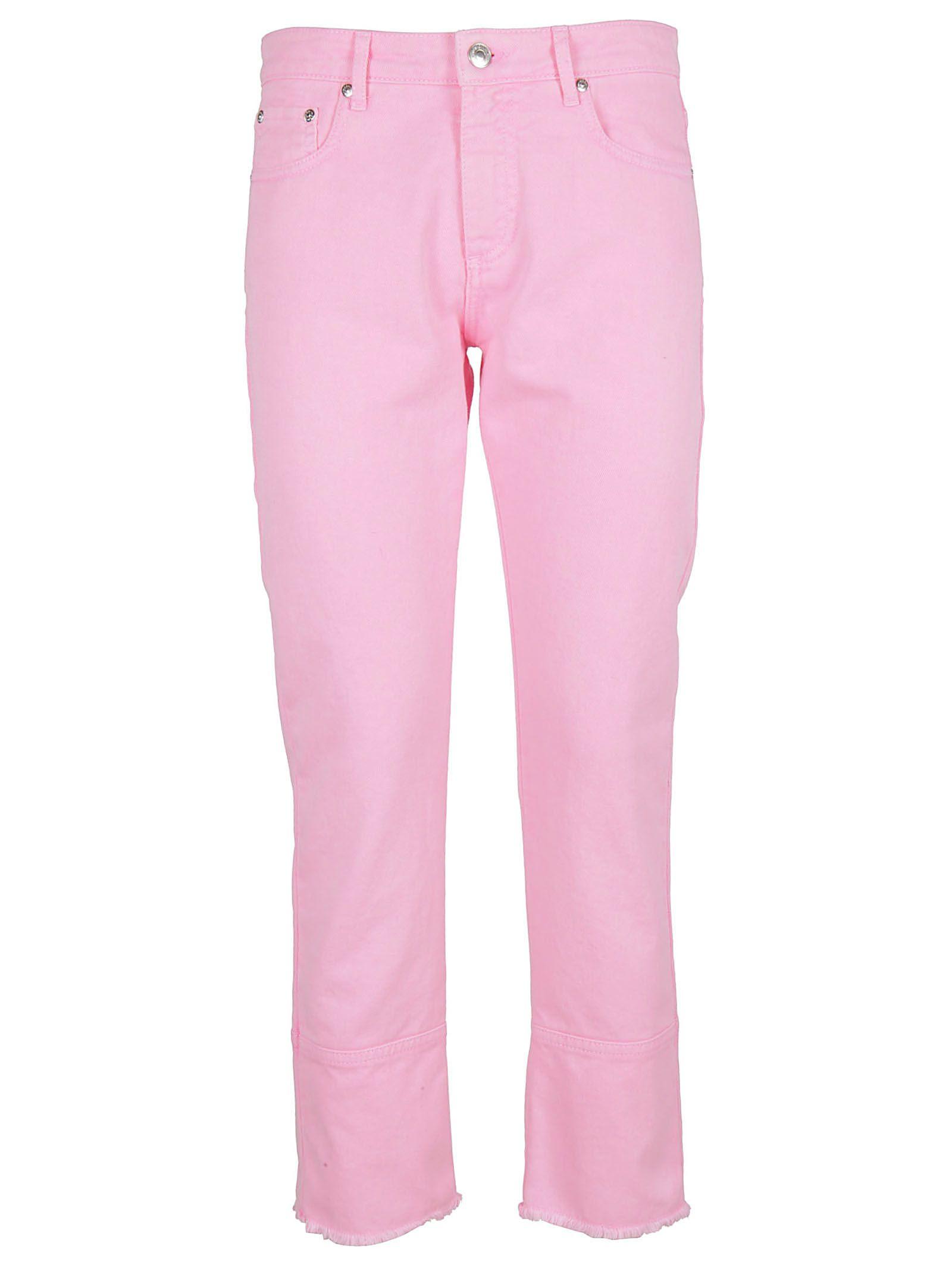 skinny cropped jeans - Pink & Purple Msgm TSUfyfiP