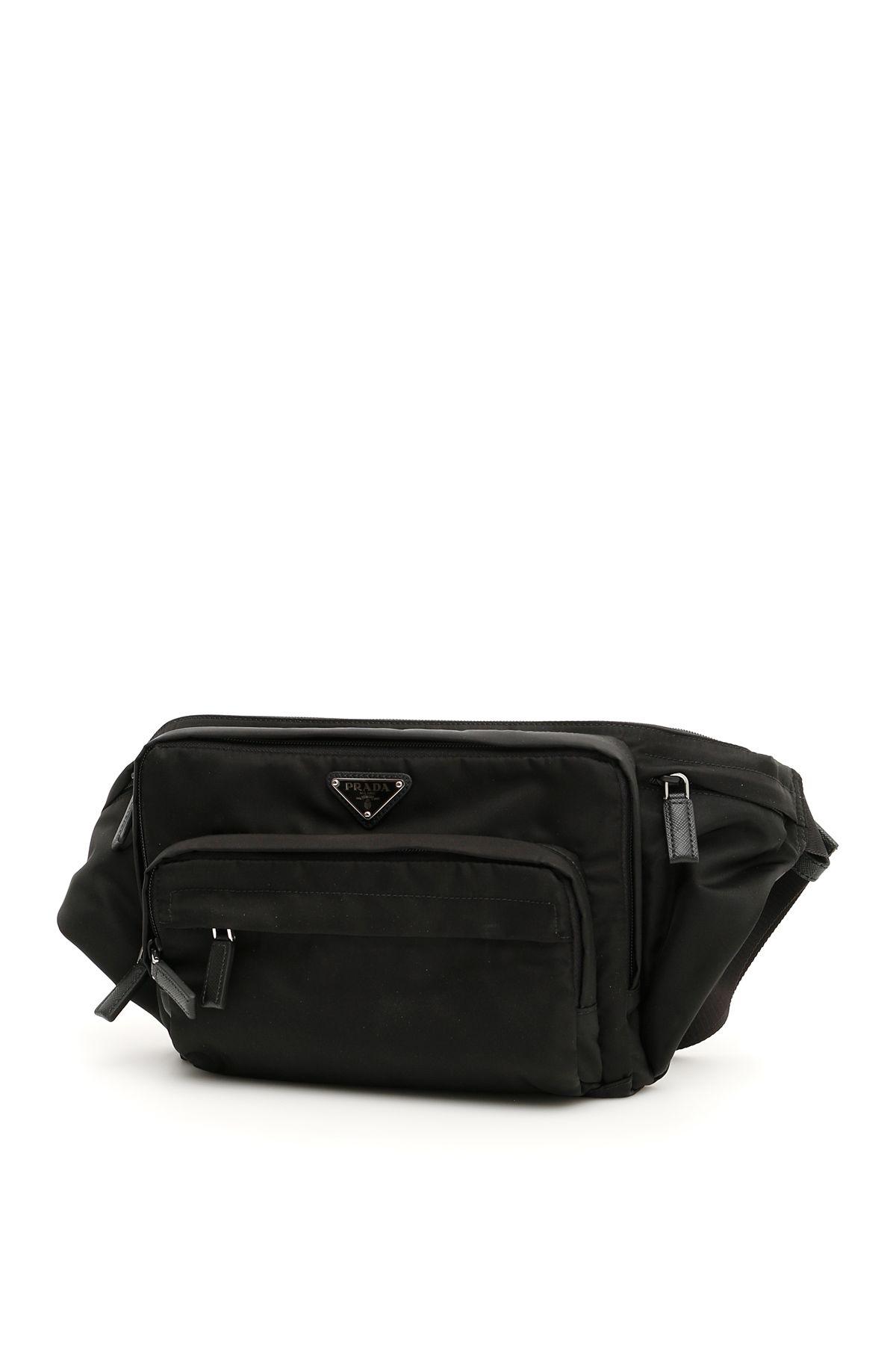 d2ac5aa35e25 Prada Nylon Beltpack In Neronero | ModeSens