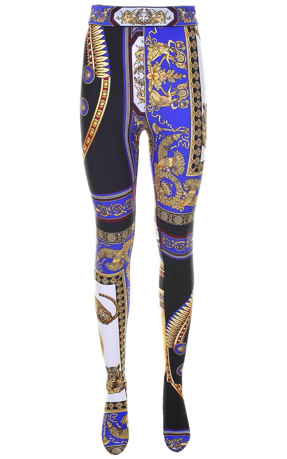 THE LOVERS-PRINT HIGH-RISE LEGGINGS from Italist.com