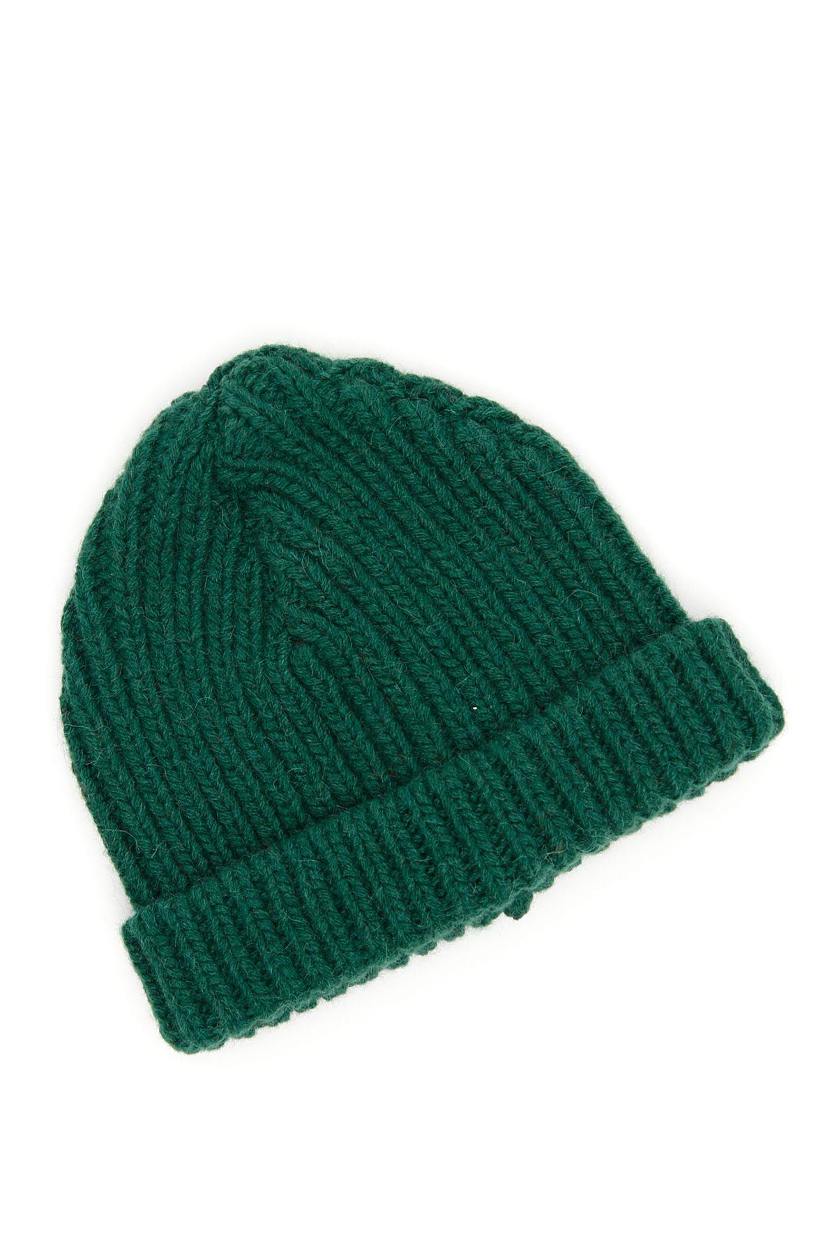 ribbed beanie hat - Green Marni xNmHqX4kHo