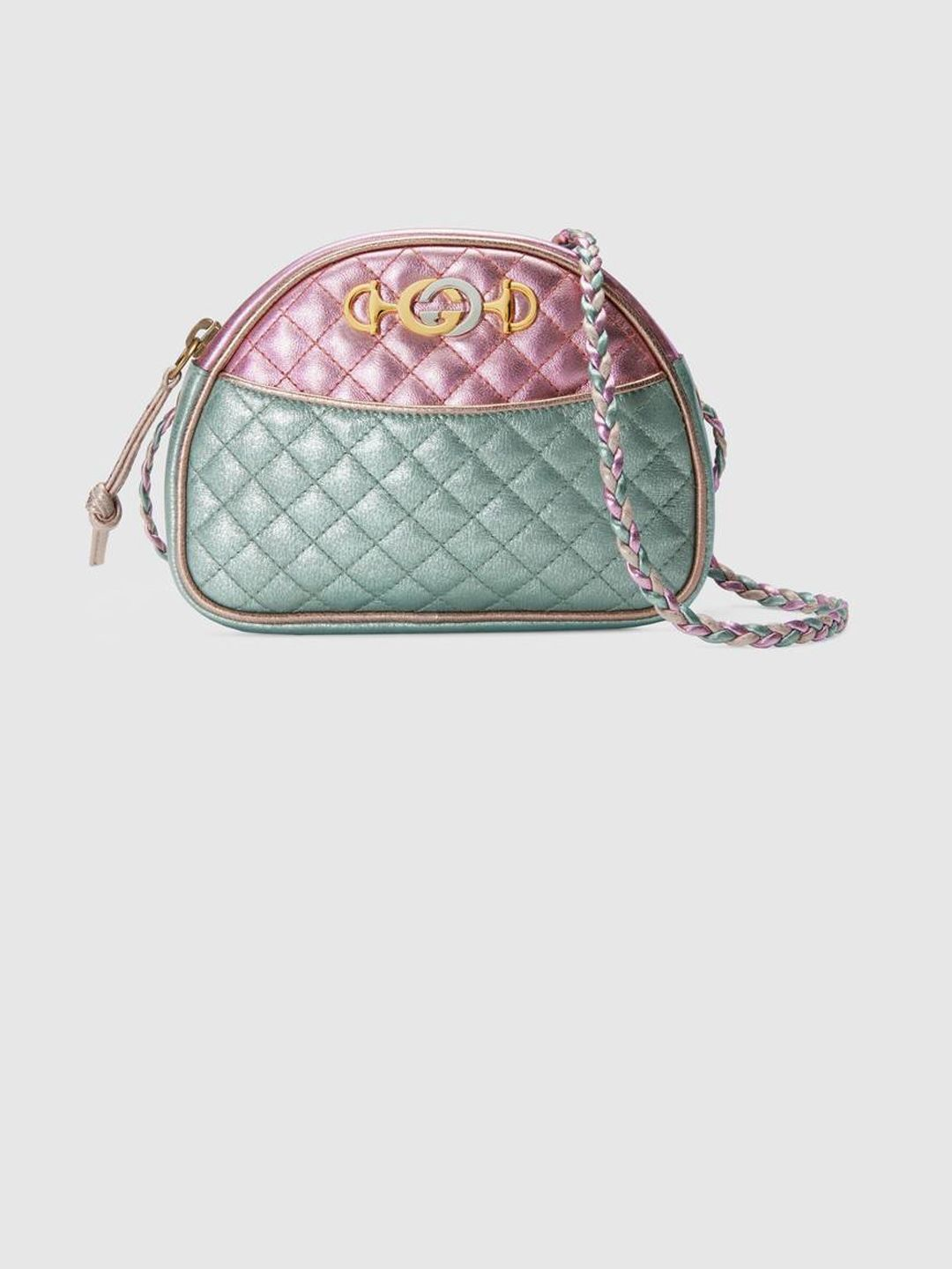 GUCCI BAG IN LAMINATED LEATHER