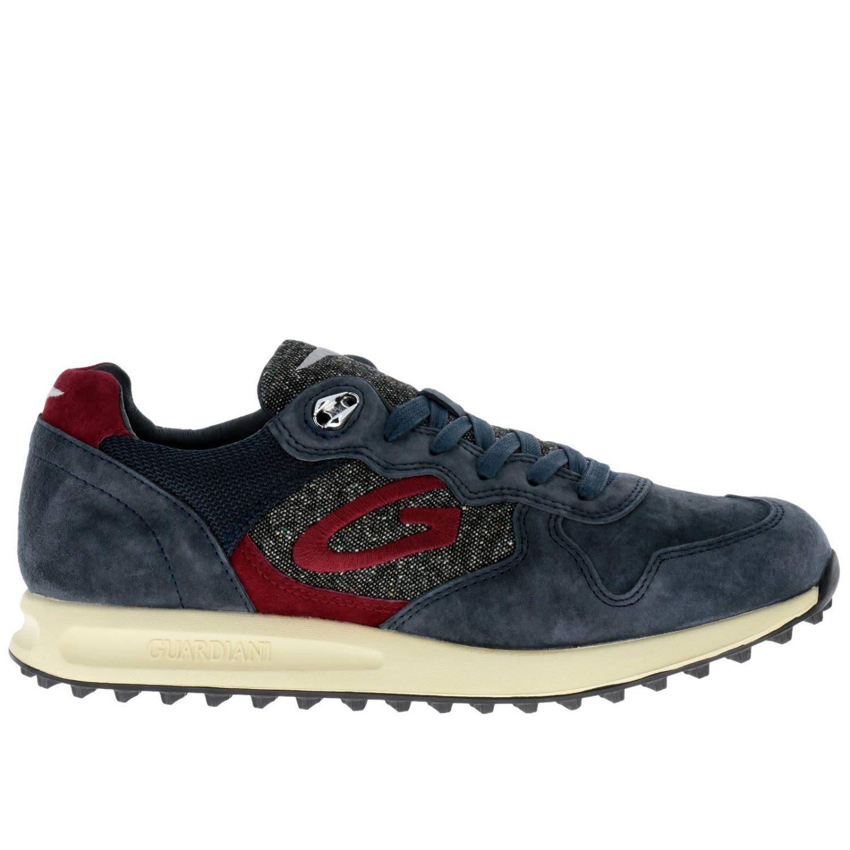ALBERTO GUARDIANI Guardiani Sneakers Shoes Men Guardiani in Blue