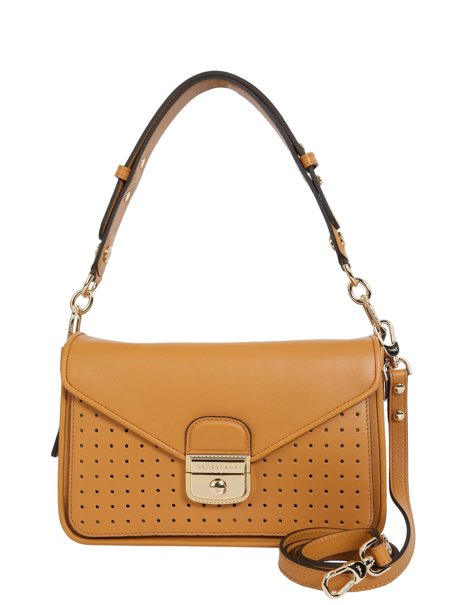 Small Mademoiselle Bag in Cuoio