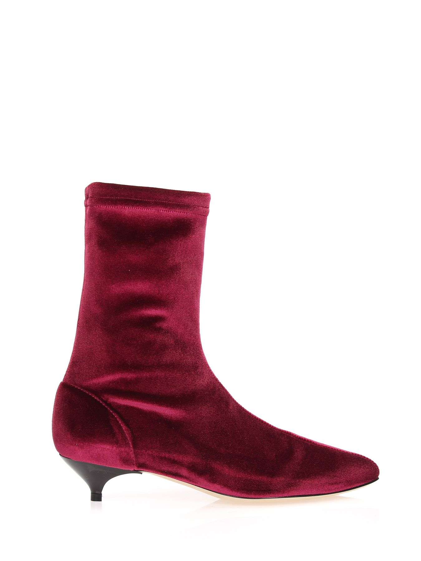 GIA COUTURE Ankle Boots Gia 04A1 in Red