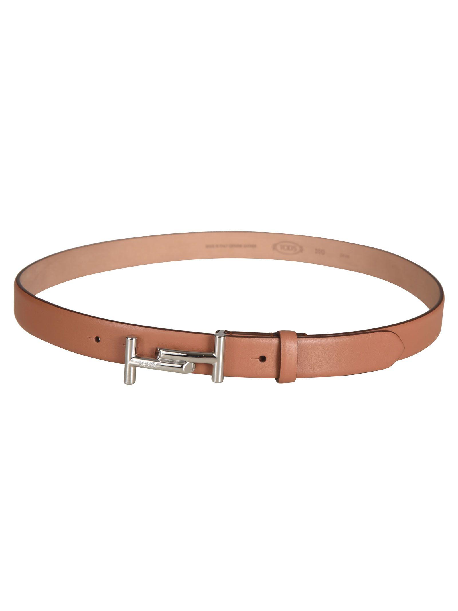 Tod's Buckle Double T Belt
